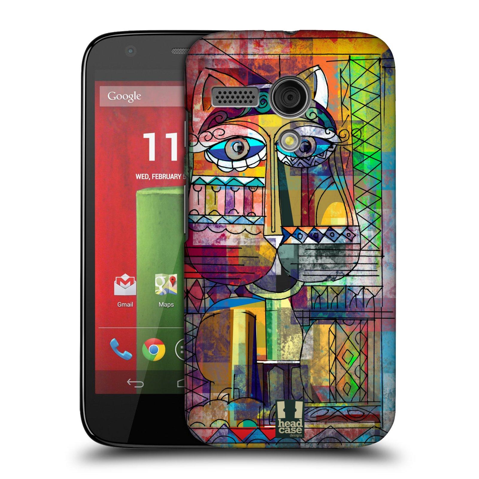 Plastové pouzdro na mobil Motorola Moto G HEAD CASE AZTEC KORAT (Kryt či obal na mobilní telefon Motorola Moto G)