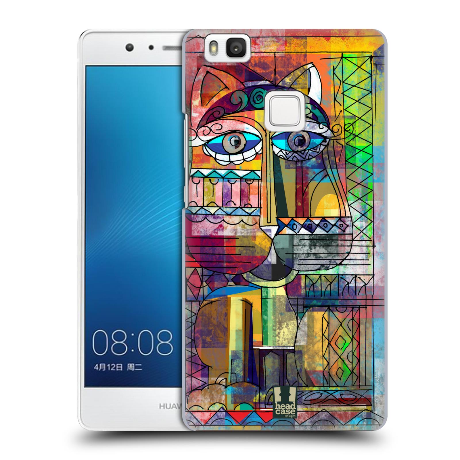 Plastové pouzdro na mobil Huawei P9 Lite HEAD CASE AZTEC KORAT