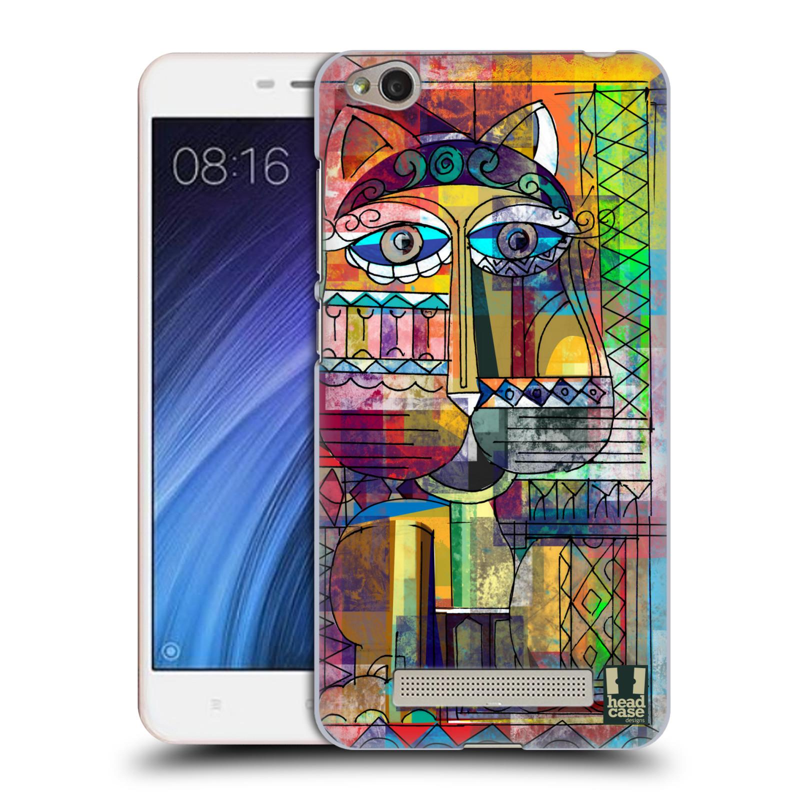 Plastové pouzdro na mobil Xiaomi Redmi 4A HEAD CASE AZTEC KORAT