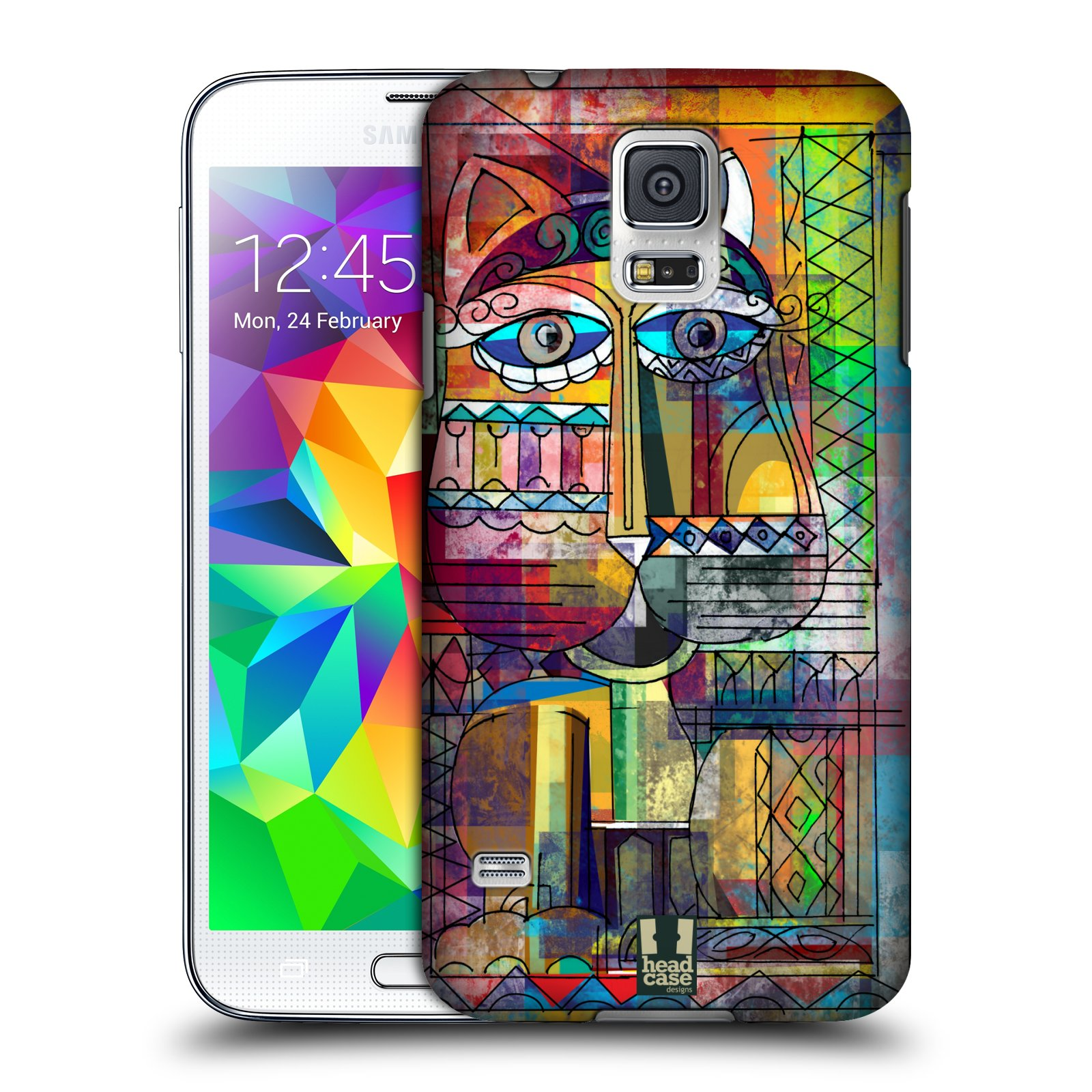 Plastové pouzdro na mobil Samsung Galaxy S5 HEAD CASE AZTEC KORAT