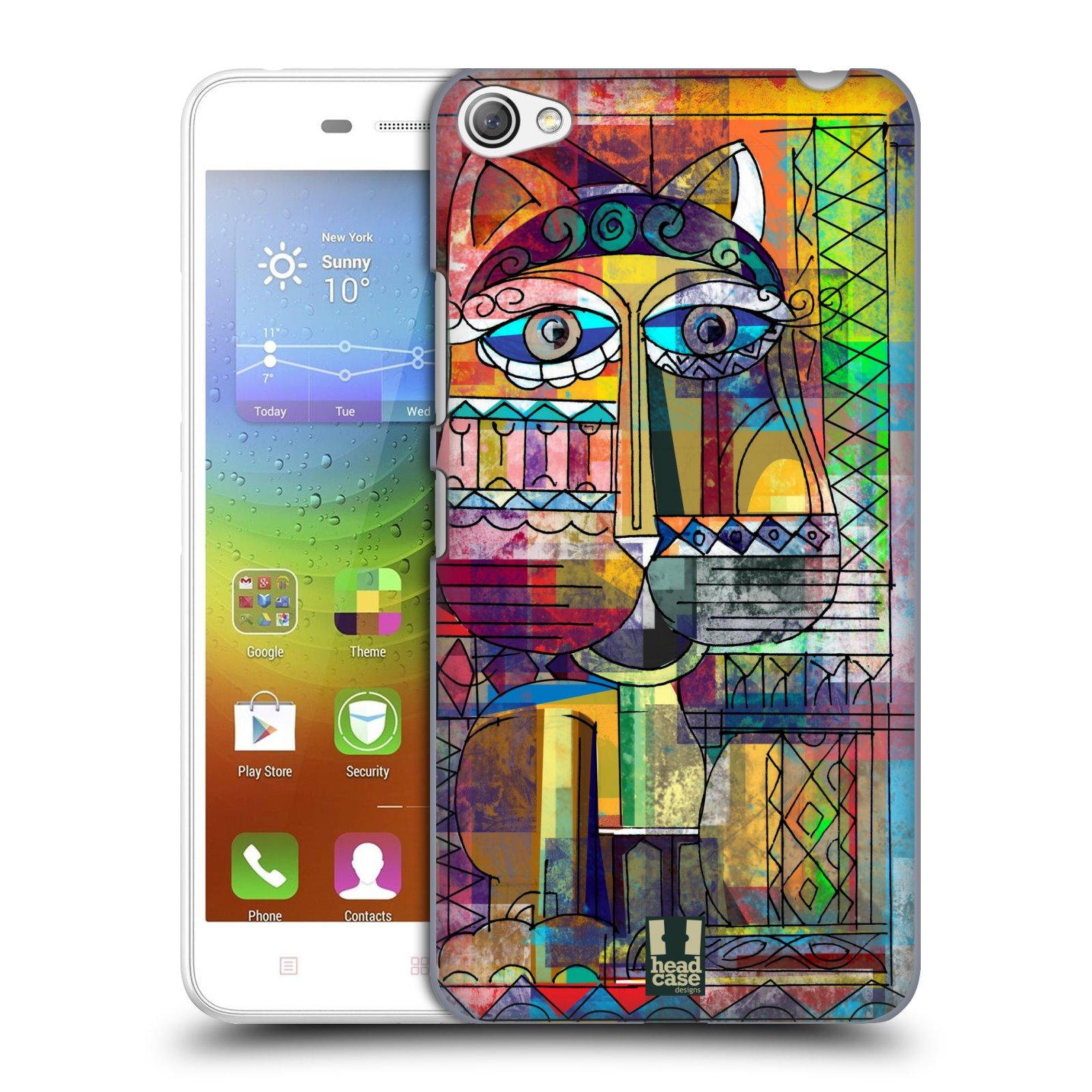 Plastové pouzdro na mobil Lenovo S60 HEAD CASE AZTEC KORAT
