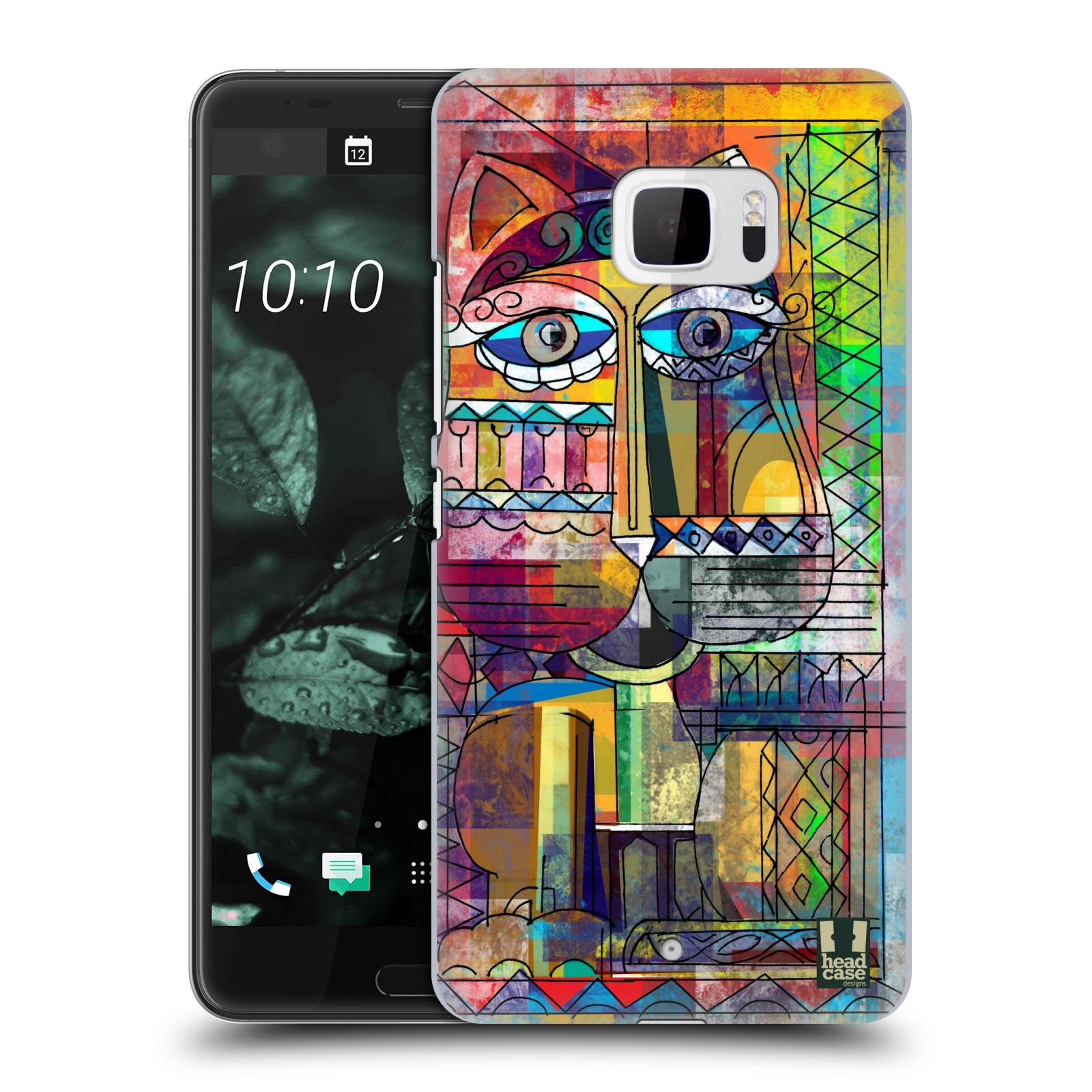 Plastové pouzdro na mobil HTC U Ultra Head Case - AZTEC KORAT