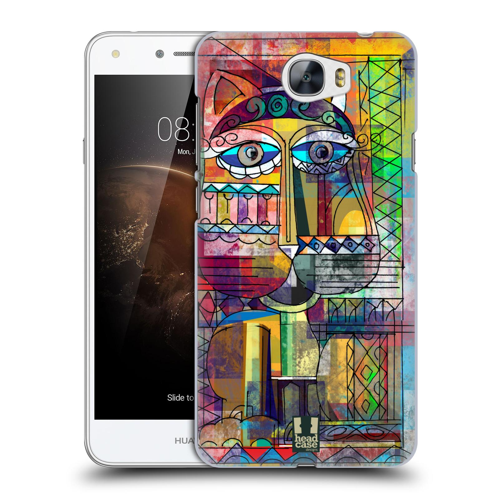 Plastové pouzdro na mobil Huawei Y5 II HEAD CASE AZTEC KORAT