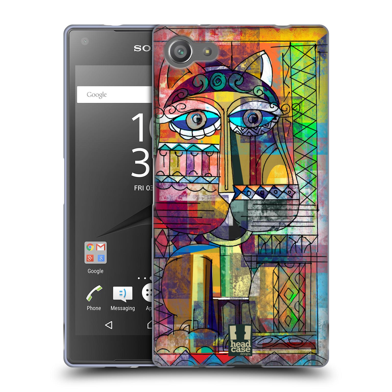Silikonové pouzdro na mobil Sony Xperia Z5 Compact HEAD CASE AZTEC KORAT