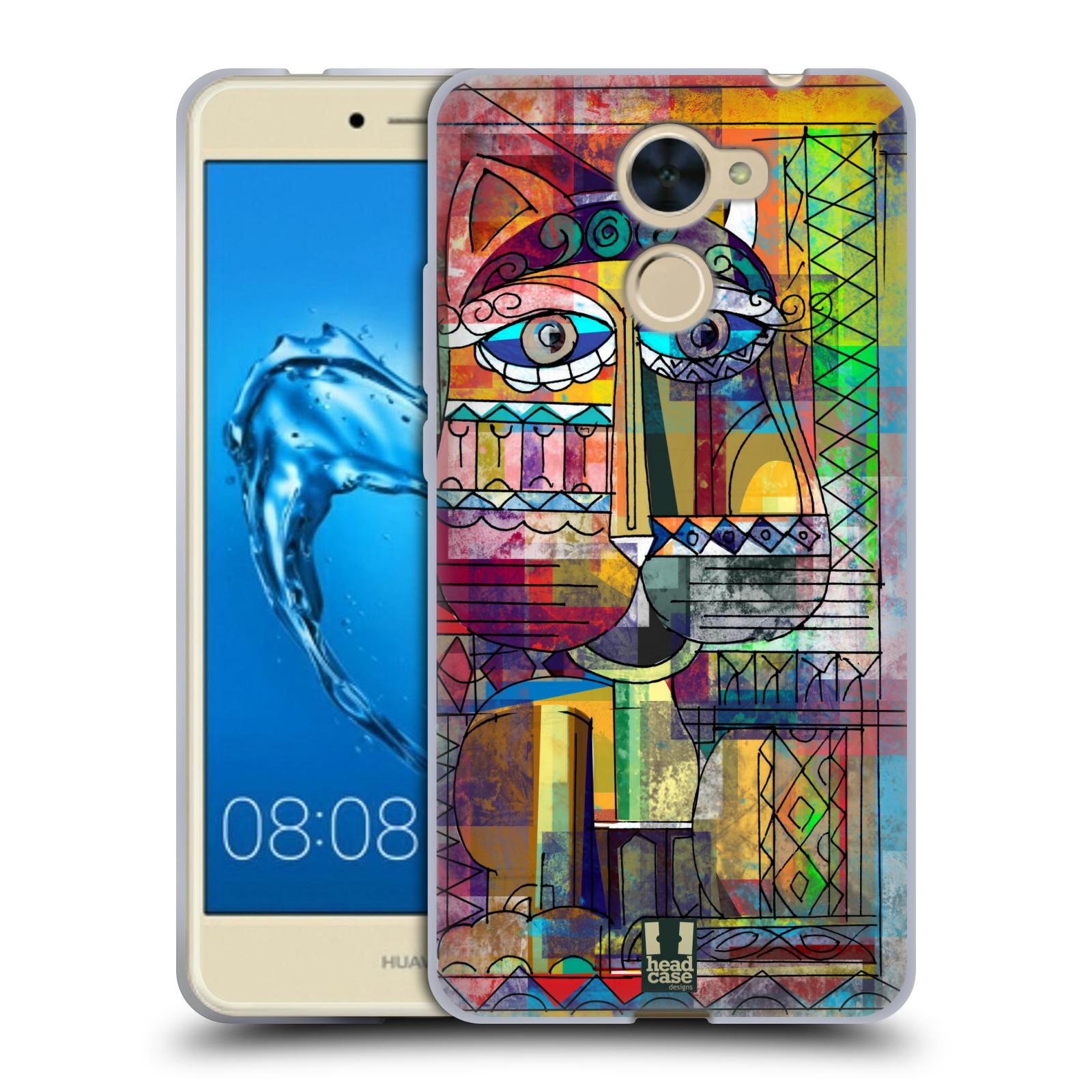 Silikonové pouzdro na mobil Huawei Y7 - Head Case - AZTEC KORAT