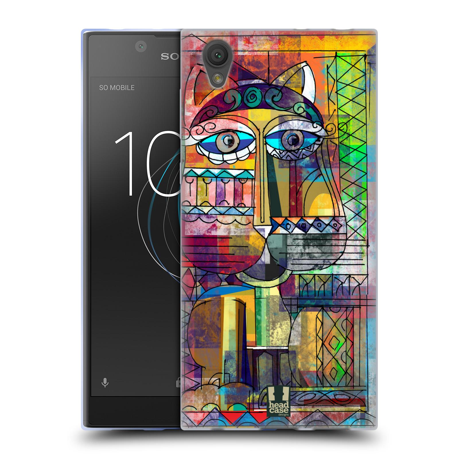 Silikonové pouzdro na mobil Sony Xperia L1 - Head Case - AZTEC KORAT