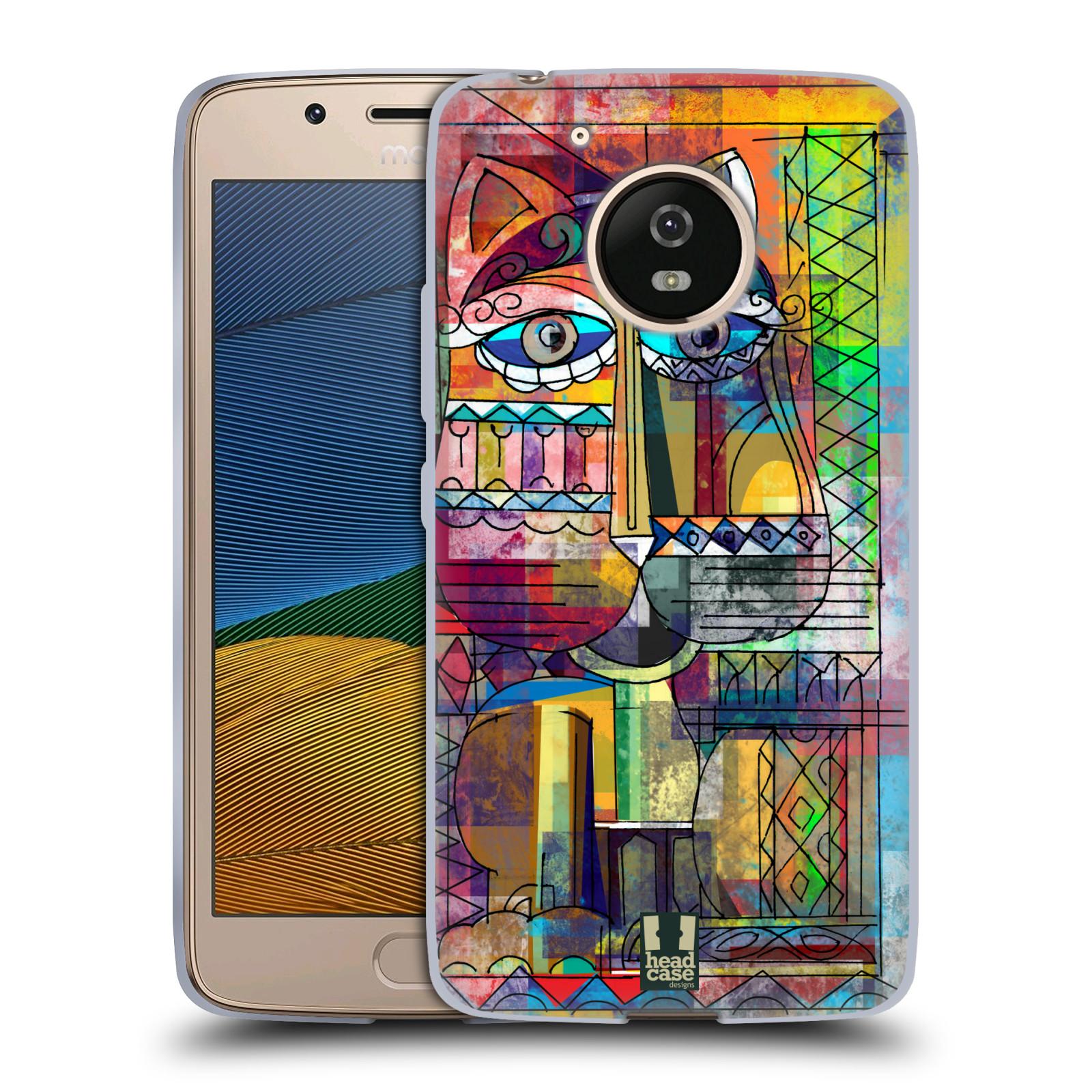 Silikonové pouzdro na mobil Lenovo Moto G5 - Head Case AZTEC KORAT