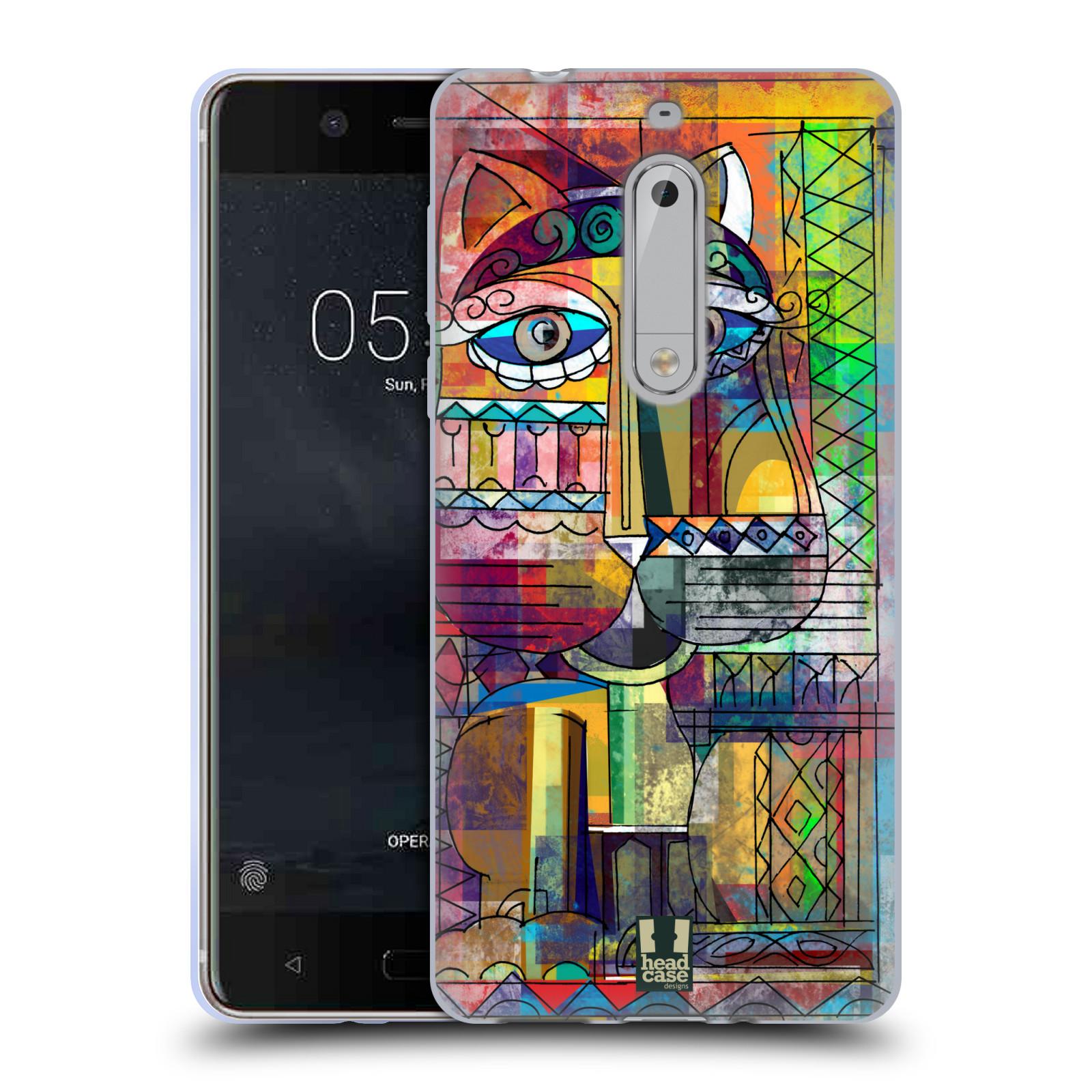 Silikonové pouzdro na mobil Nokia 5 Head Case - AZTEC KORAT