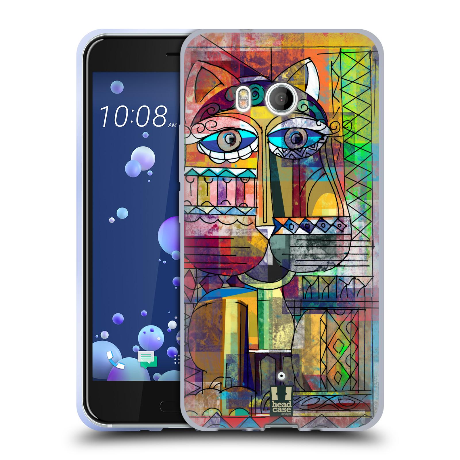 Silikonové pouzdro na mobil HTC U11 - Head Case - AZTEC KORAT