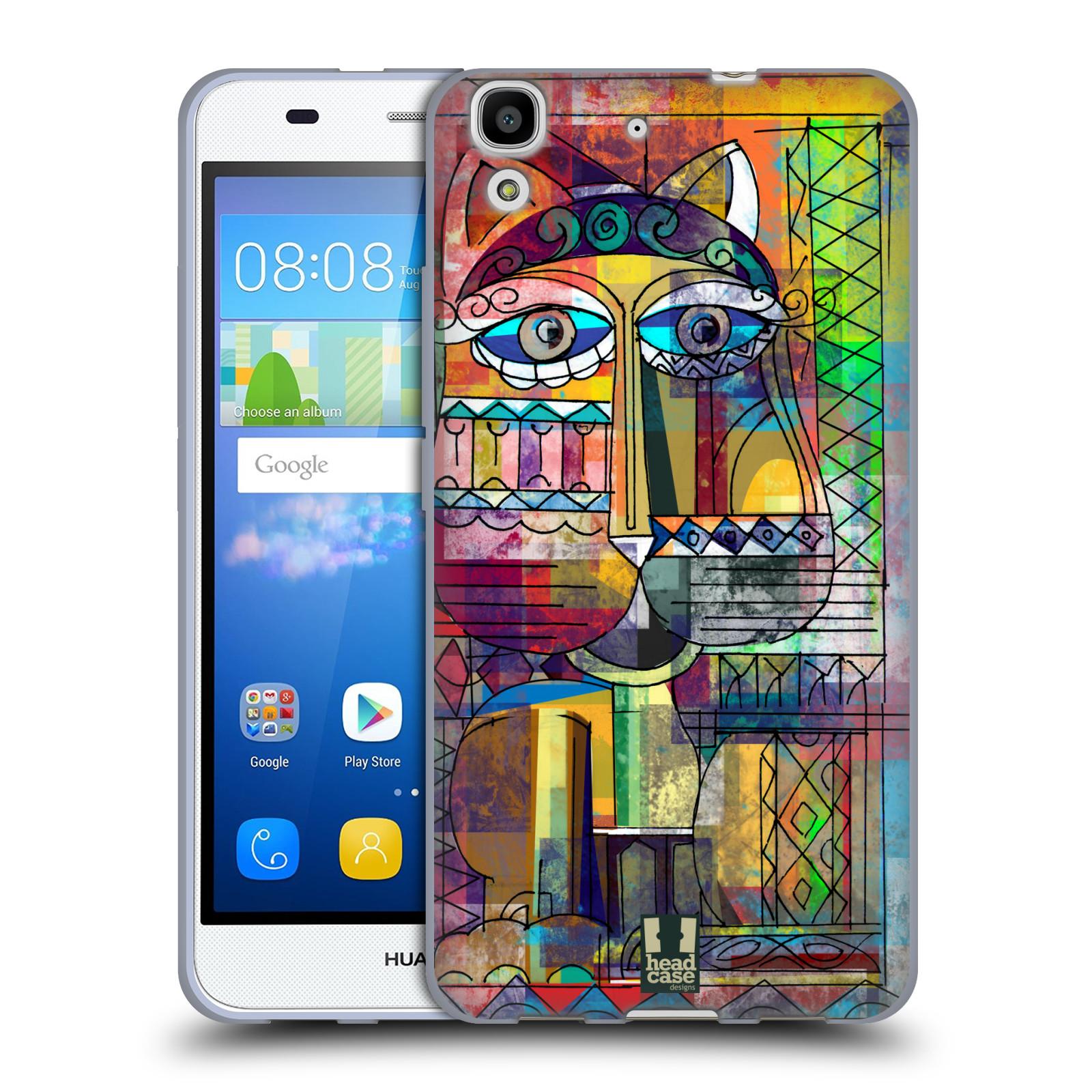 Silikonové pouzdro na mobil Huawei Y6 HEAD CASE AZTEC KORAT