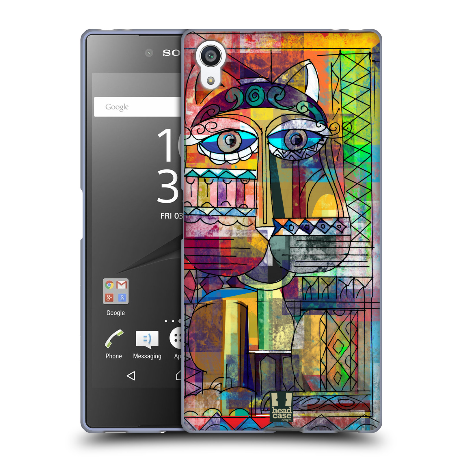 Silikonové pouzdro na mobil Sony Xperia Z5 Premium HEAD CASE AZTEC KORAT