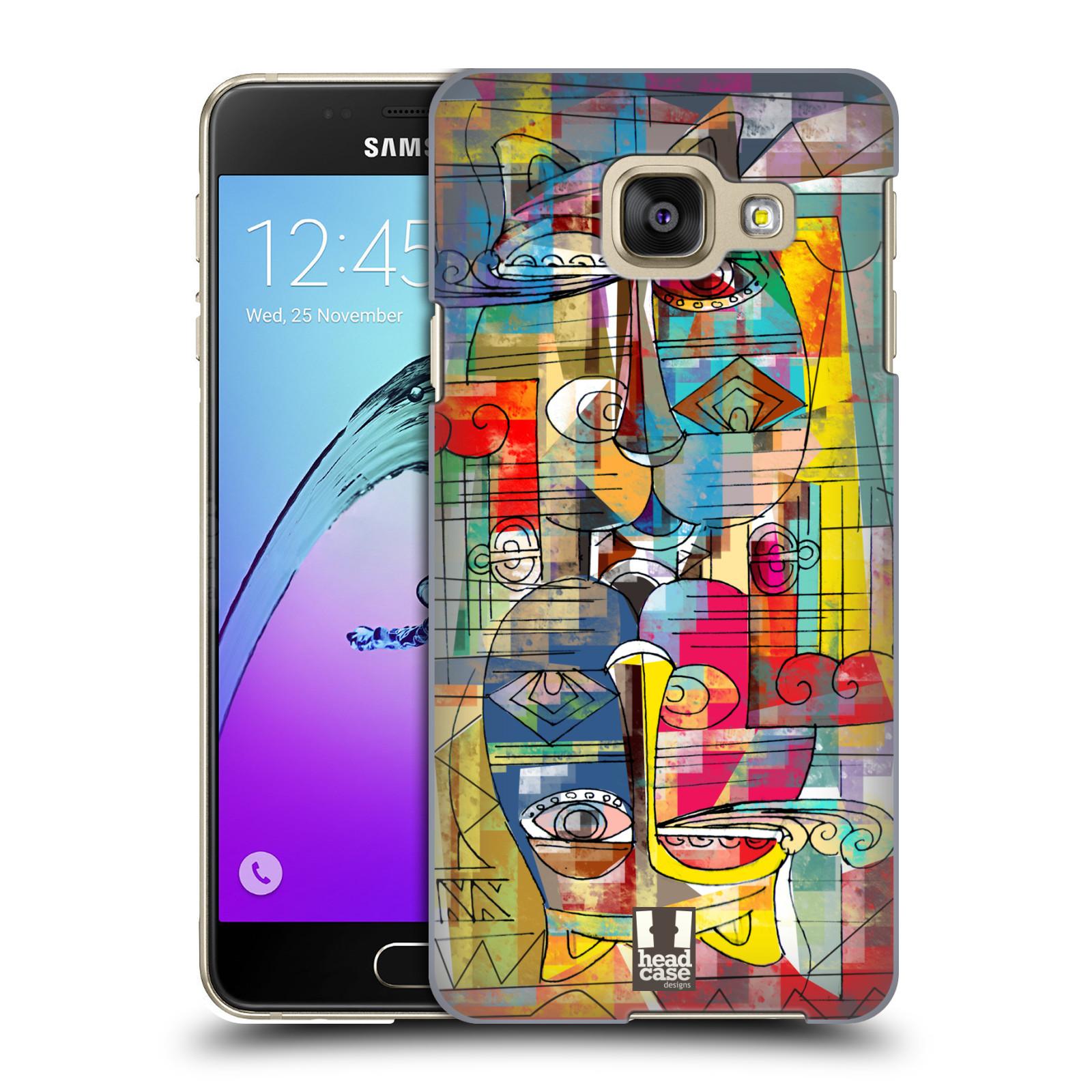 Plastové pouzdro na mobil Samsung Galaxy A3 (2016) HEAD CASE AZTEC MANX