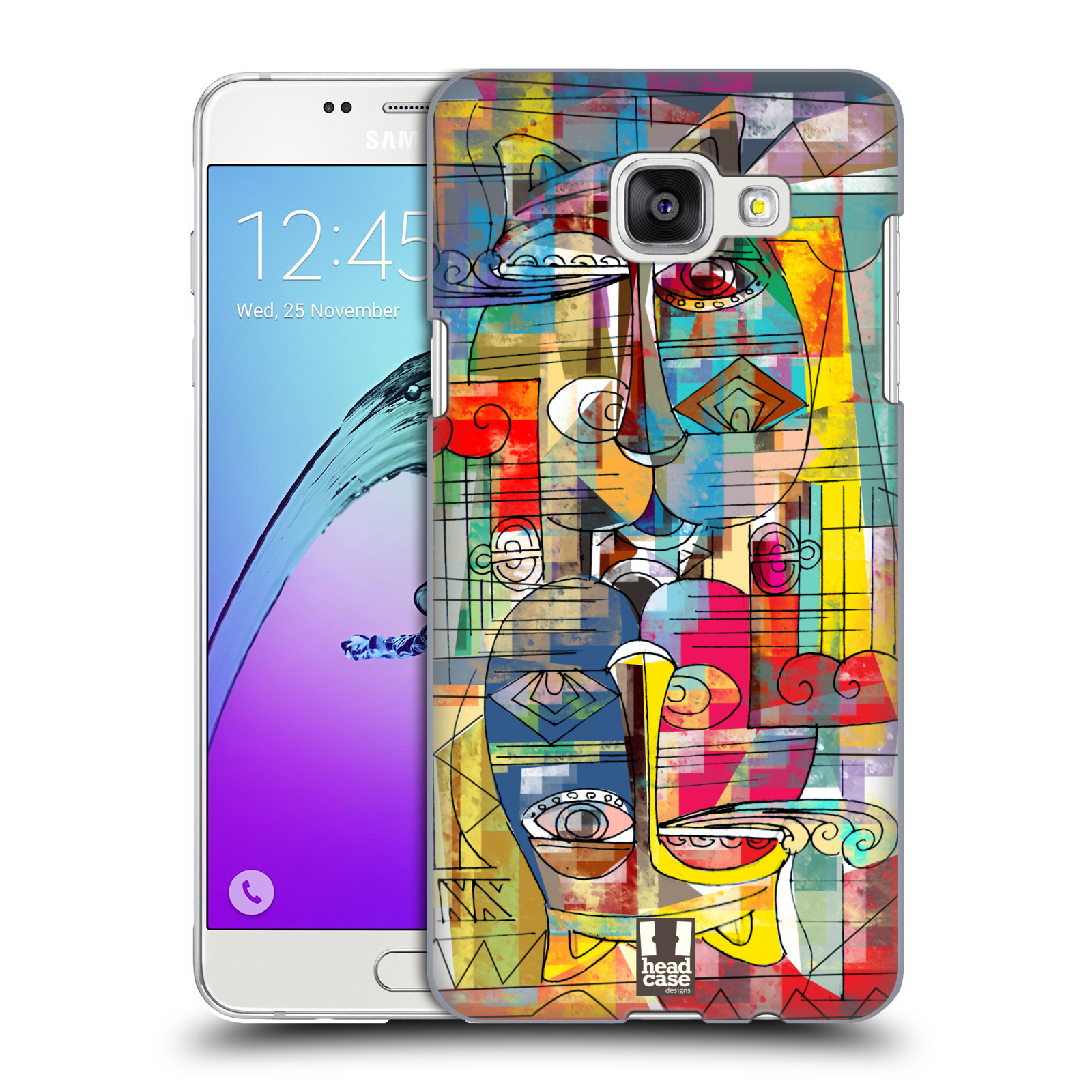 Plastové pouzdro na mobil Samsung Galaxy A5 (2016) HEAD CASE AZTEC MANX