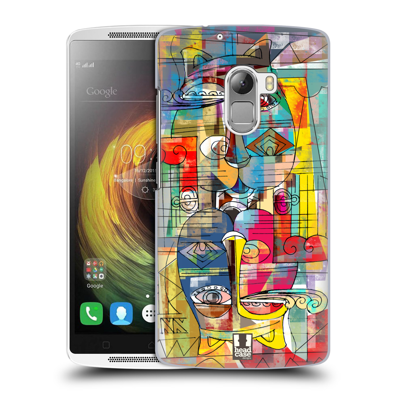 Plastové pouzdro na mobil Lenovo A7010 HEAD CASE AZTEC MANX