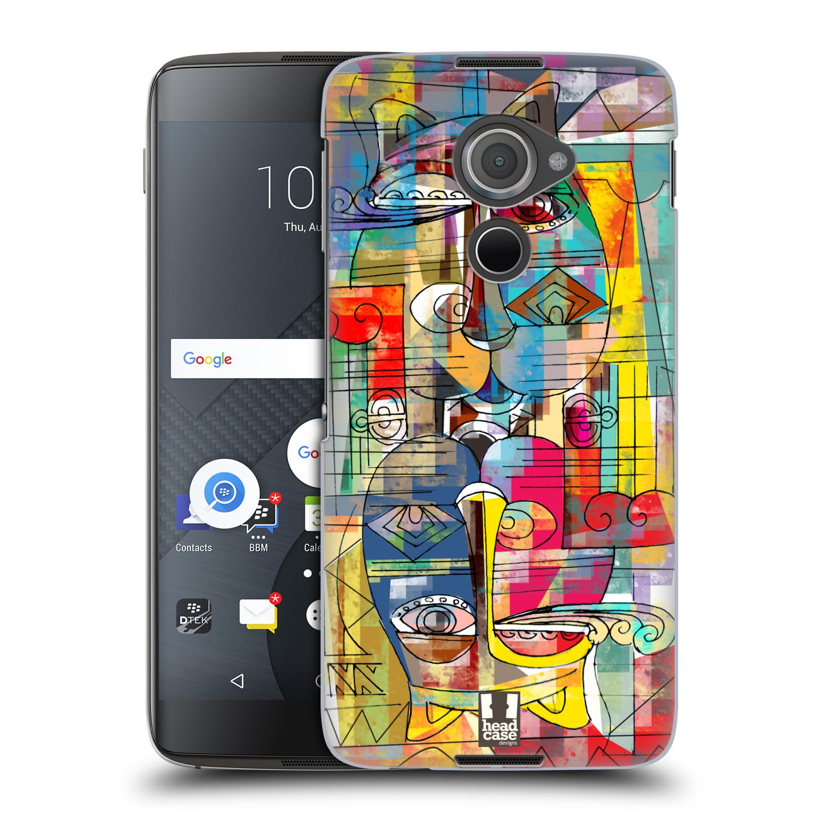 Plastové pouzdro na mobil Blackberry DTEK60 (Argon) - Head Case AZTEC MANX