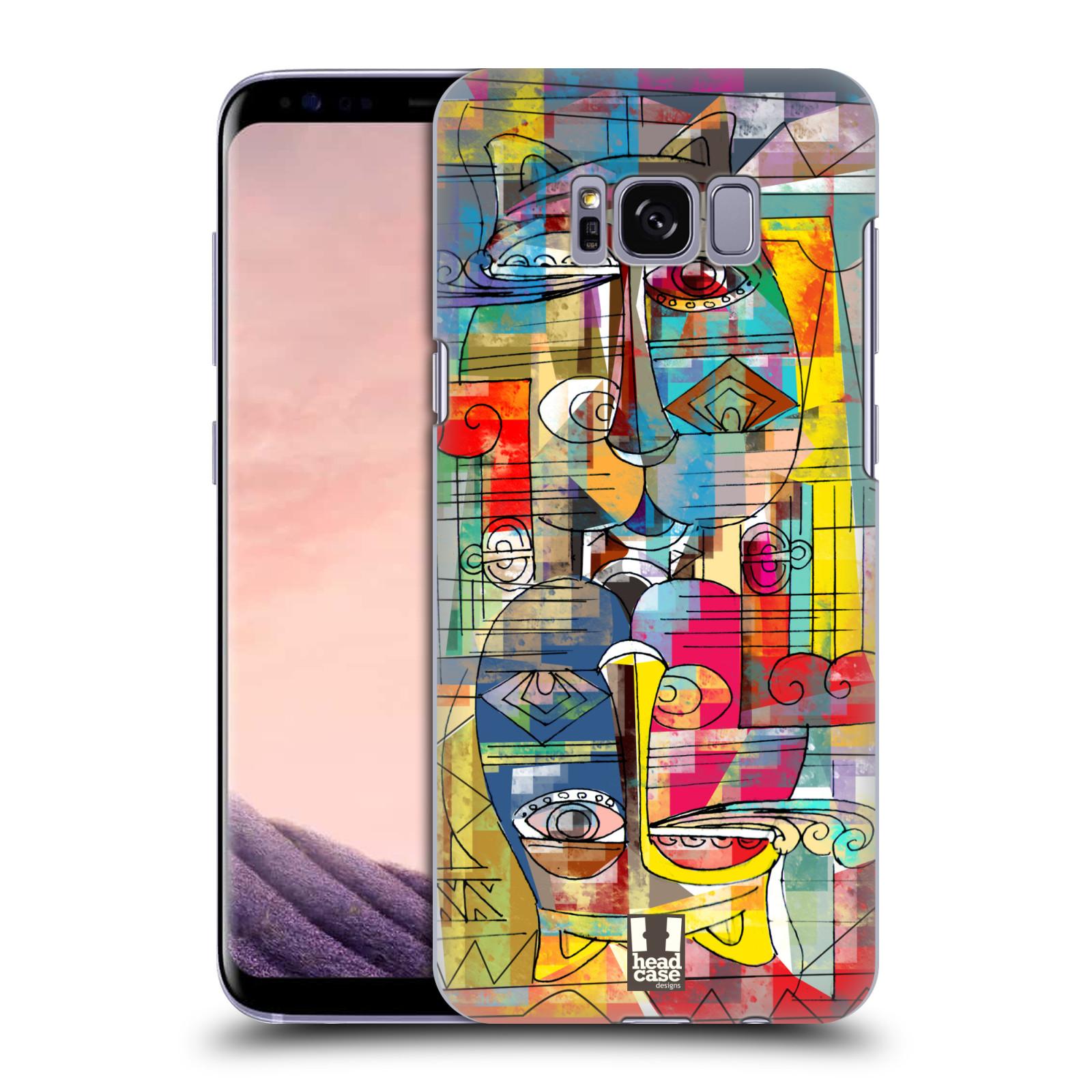 Plastové pouzdro na mobil Samsung Galaxy S8 Head Case AZTEC MANX