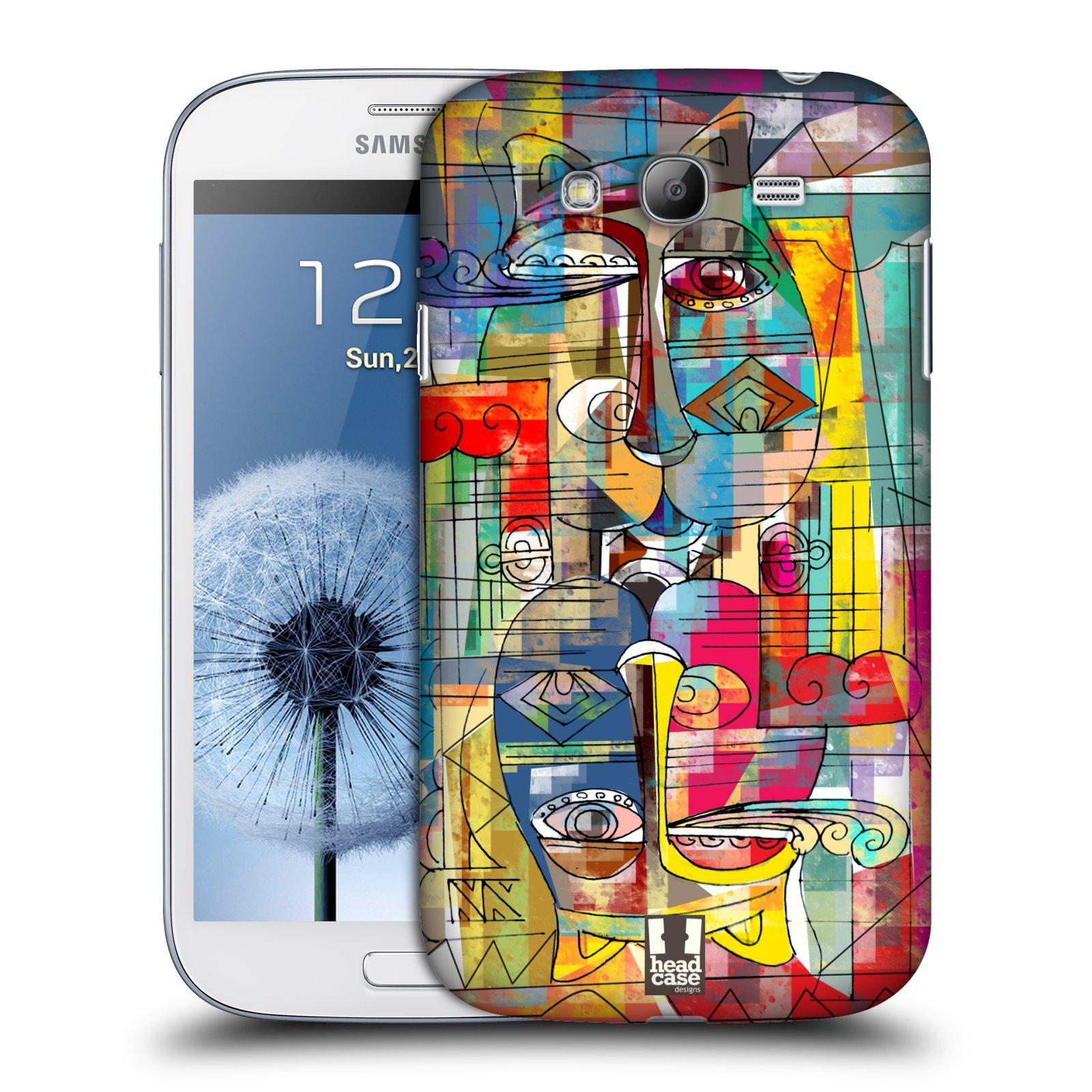 Plastové pouzdro na mobil Samsung Galaxy Grand Neo Plus HEAD CASE AZTEC MANX (Kryt či obal na mobilní telefon Samsung Galaxy Grand Neo Plus GT-i9060i)