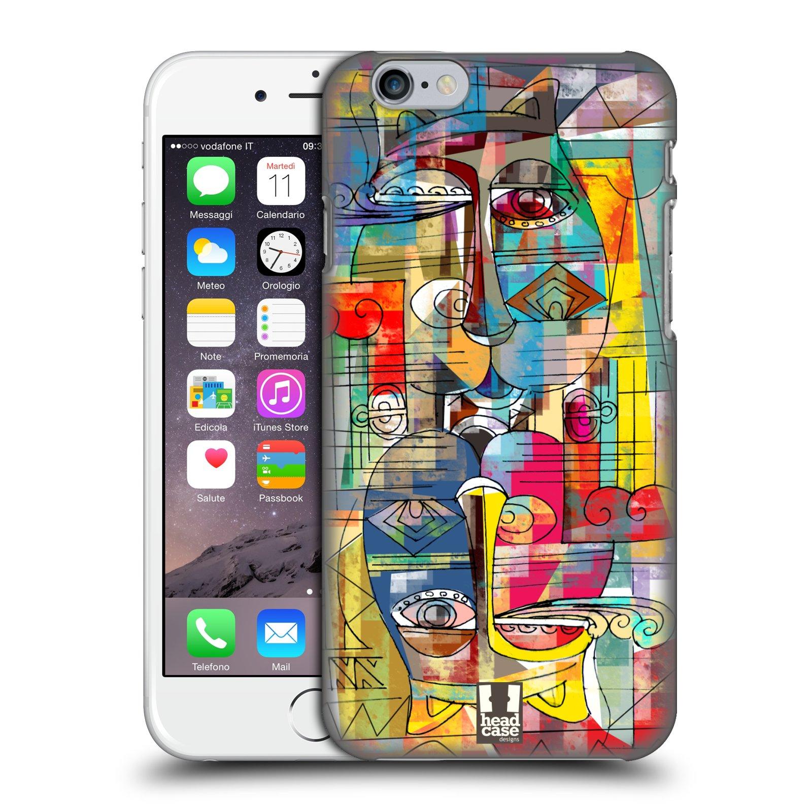 Plastové pouzdro na mobil Apple iPhone 6 a 6S HEAD CASE AZTEC MANX