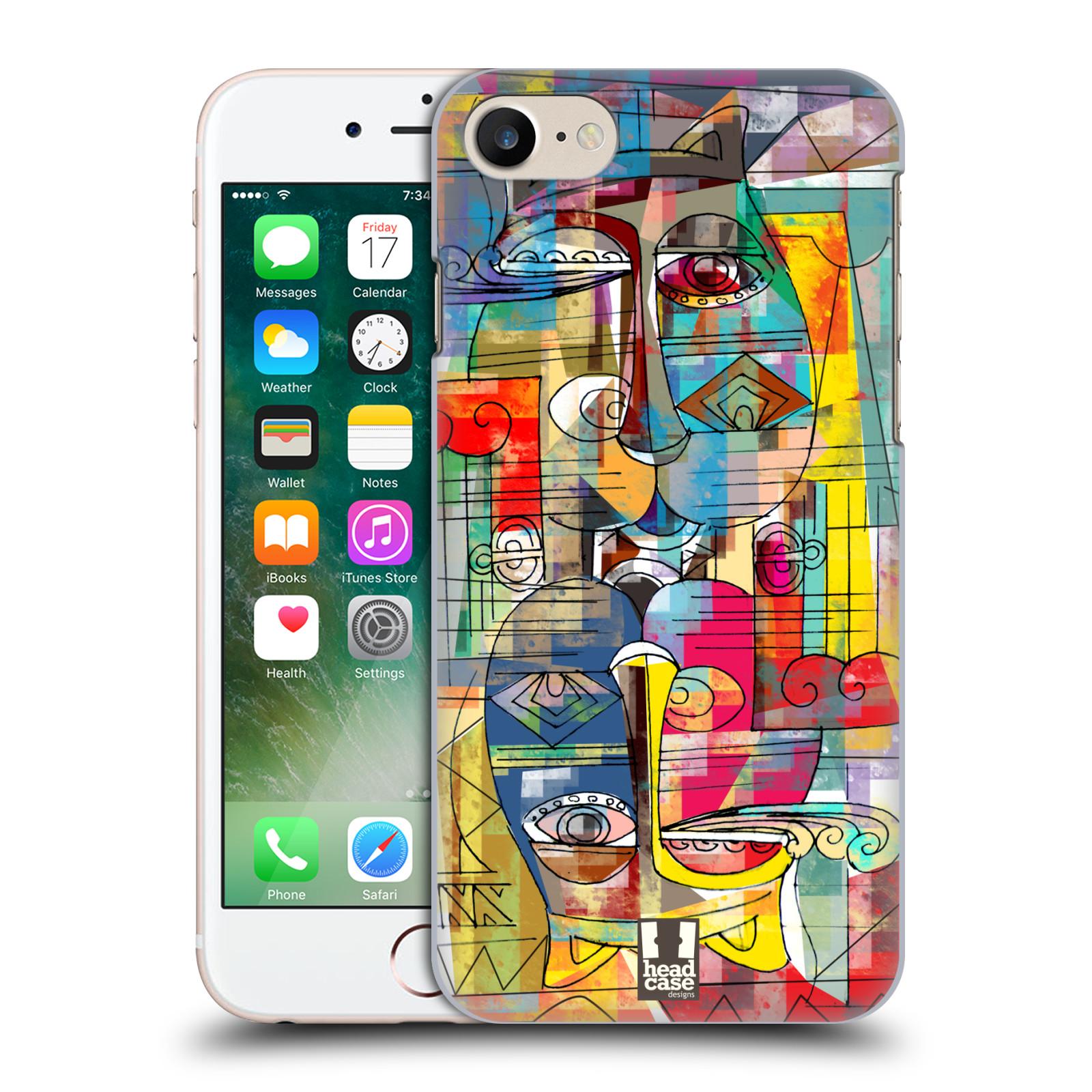 Plastové pouzdro na mobil Apple iPhone 7 HEAD CASE AZTEC MANX