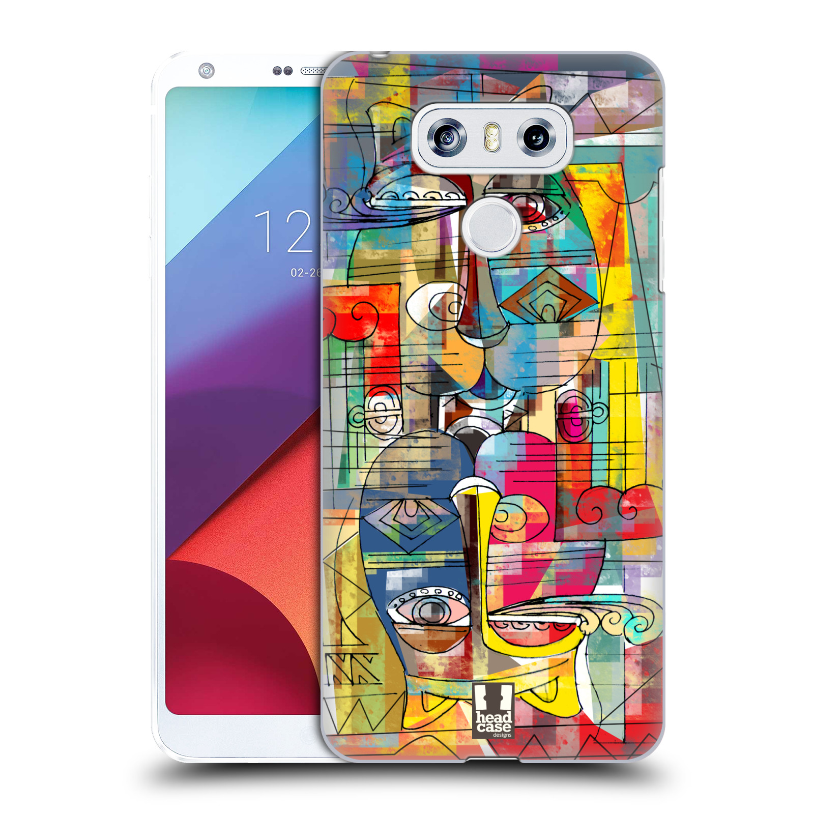 Plastové pouzdro na mobil LG G6 - Head Case AZTEC MANX