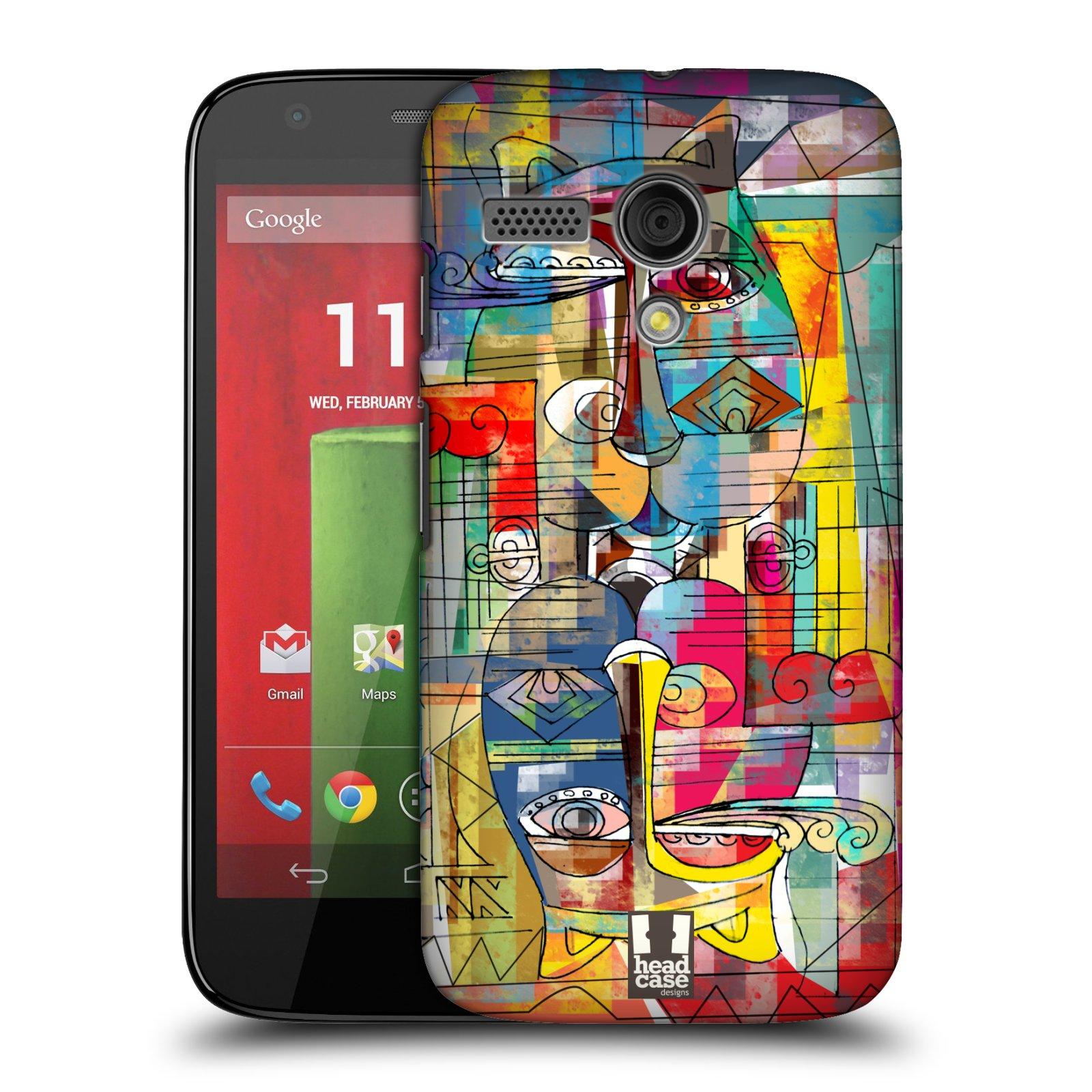Plastové pouzdro na mobil Motorola Moto G HEAD CASE AZTEC MANX (Kryt či obal na mobilní telefon Motorola Moto G)