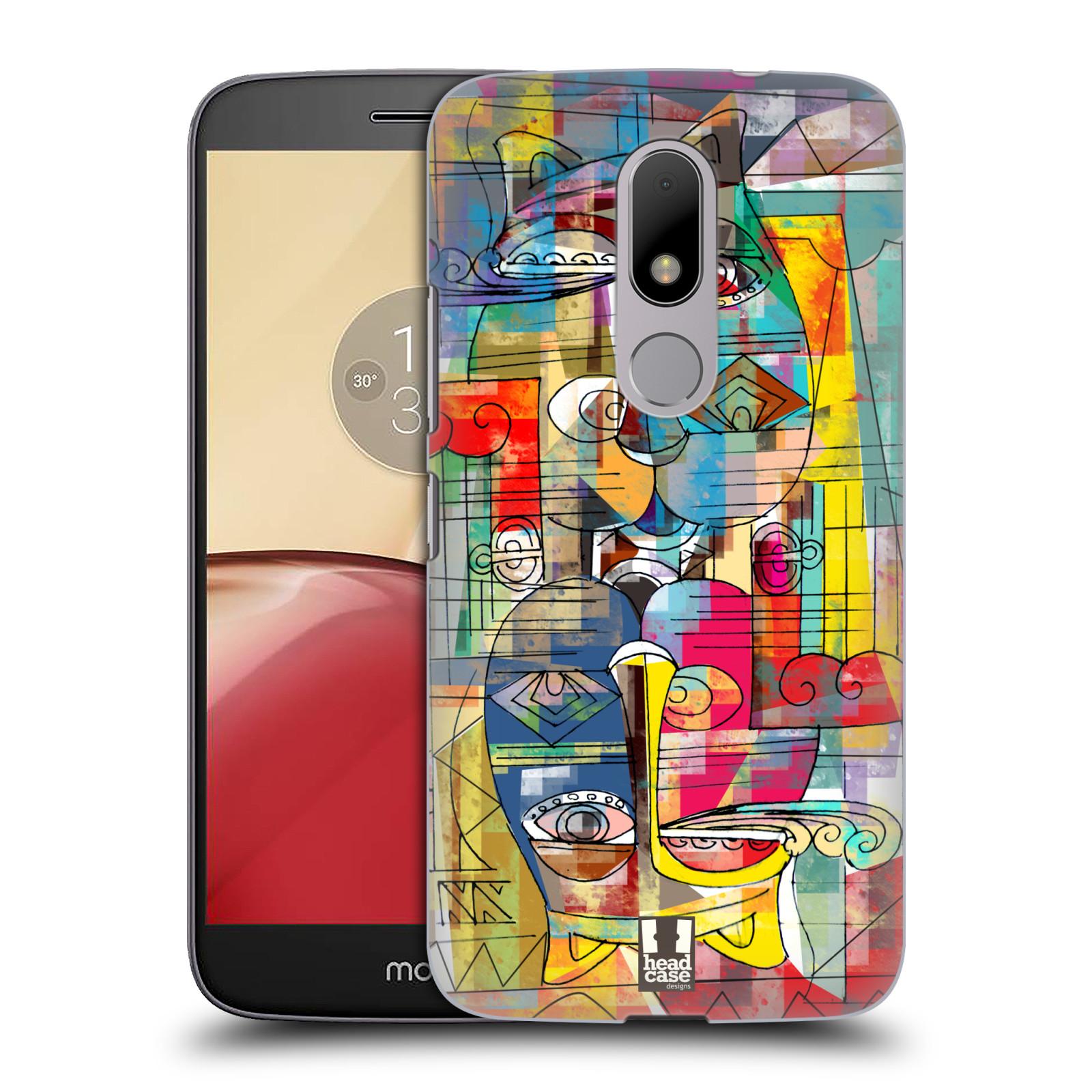 Plastové pouzdro na mobil Lenovo Moto M HEAD CASE AZTEC MANX