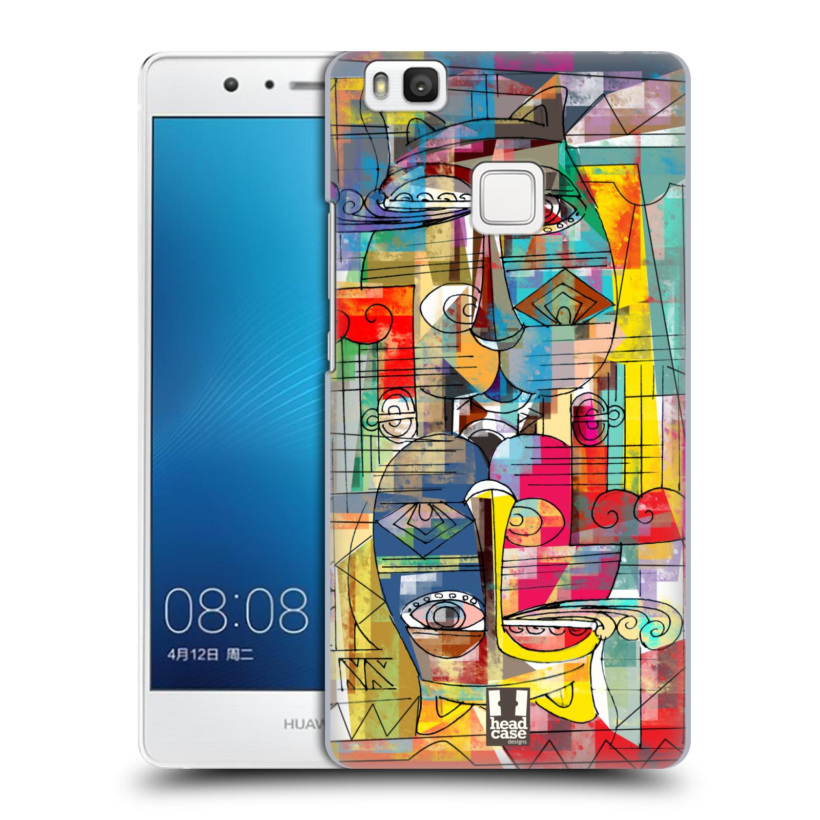 Plastové pouzdro na mobil Huawei P9 Lite HEAD CASE AZTEC MANX