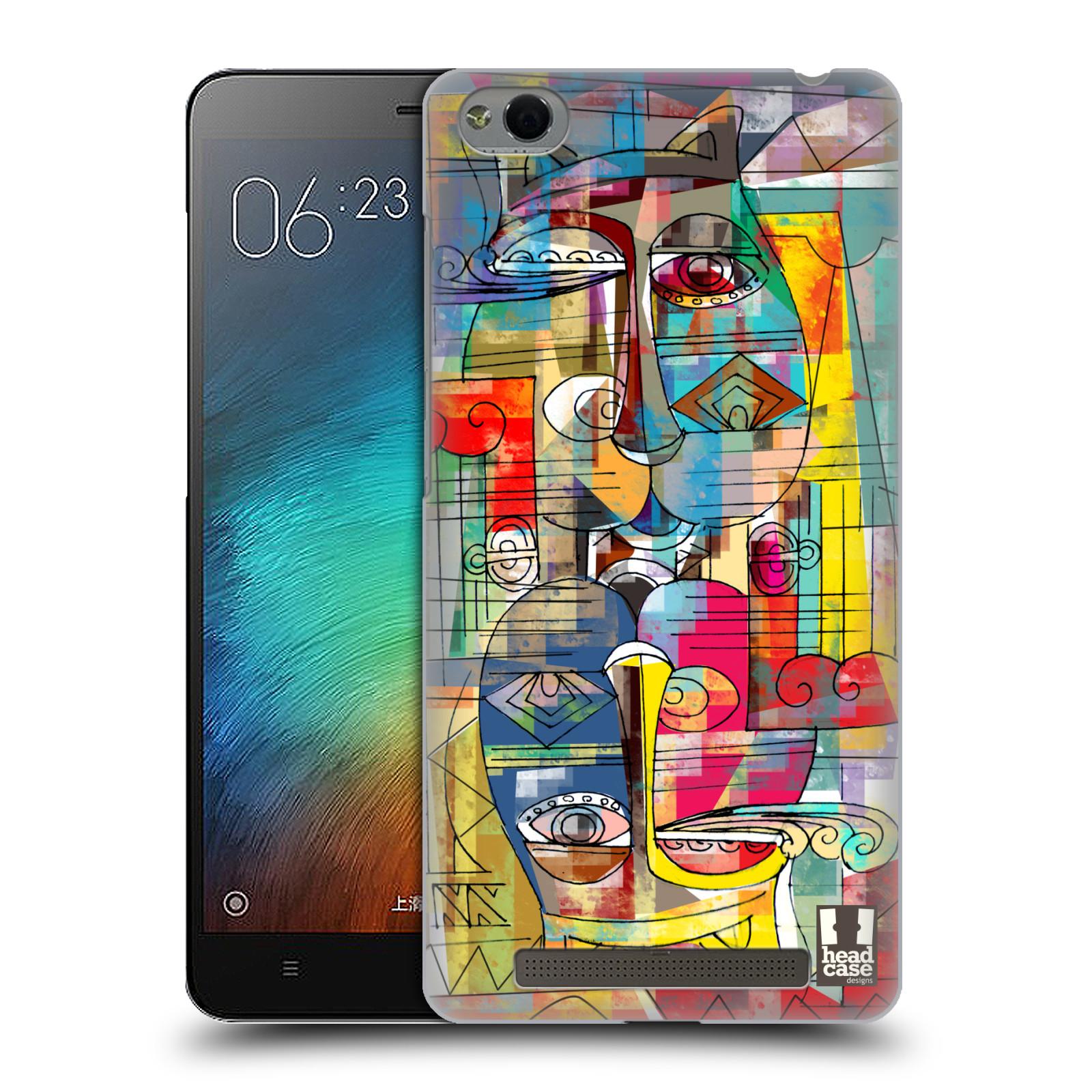 Plastové pouzdro na mobil Xiaomi Redmi 3 HEAD CASE AZTEC MANX