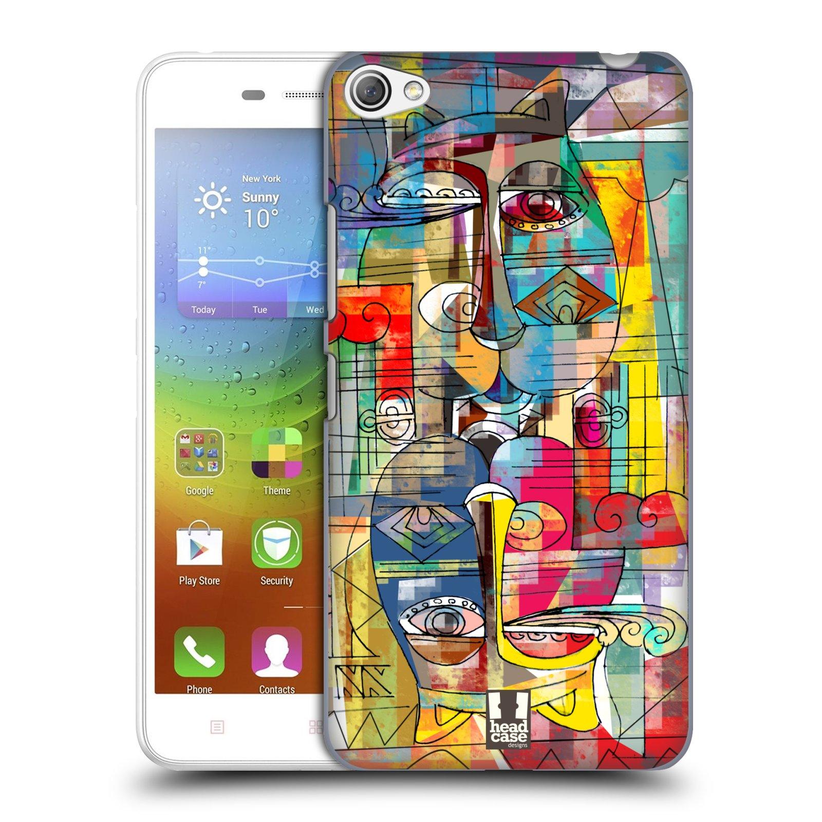 Plastové pouzdro na mobil Lenovo S60 HEAD CASE AZTEC MANX