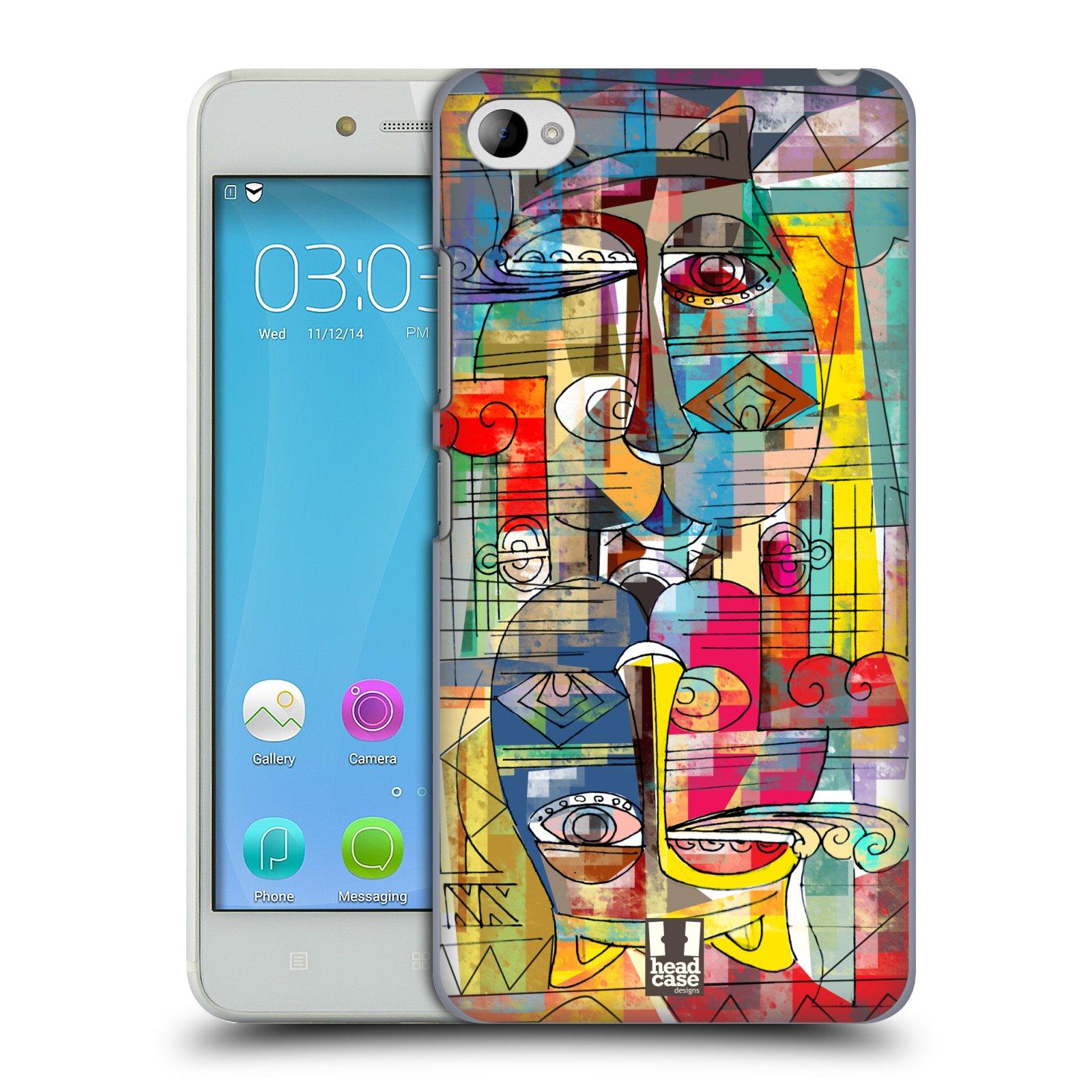 Plastové pouzdro na mobil Lenovo S90 HEAD CASE AZTEC MANX (Kryt či obal na mobilní telefon Lenovo S90)