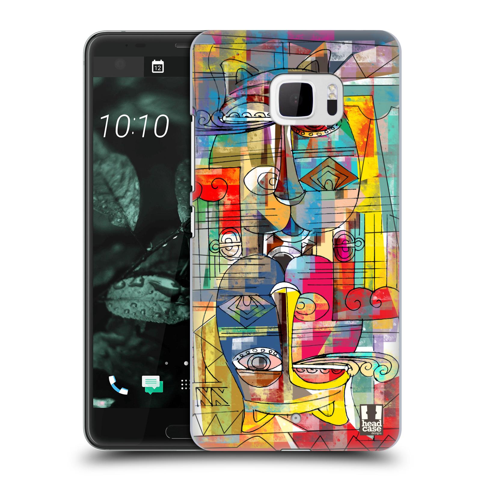 Plastové pouzdro na mobil HTC U Ultra Head Case - AZTEC MANX