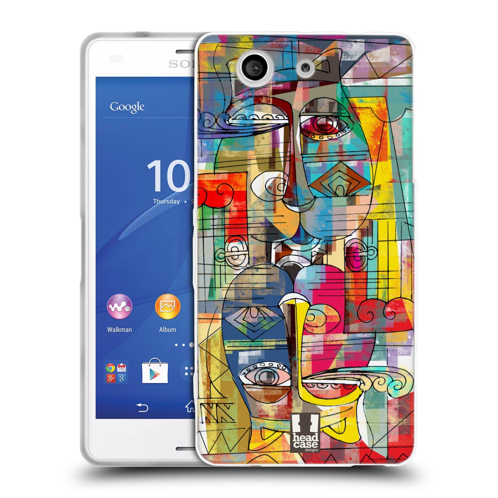 Silikonové pouzdro na mobil Sony Xperia Z3 Compact D5803 HEAD CASE AZTEC MANX