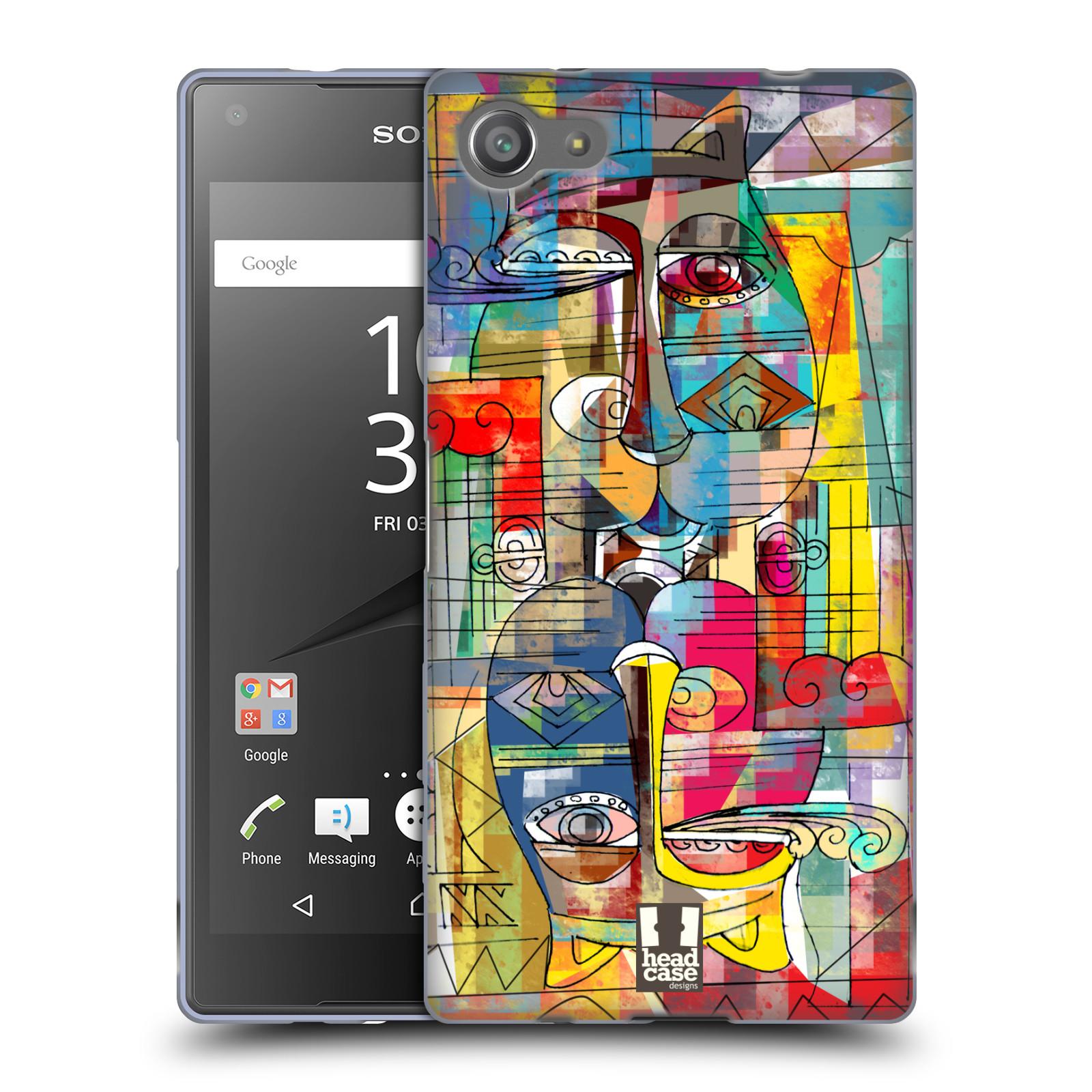 Silikonové pouzdro na mobil Sony Xperia Z5 Compact HEAD CASE AZTEC MANX