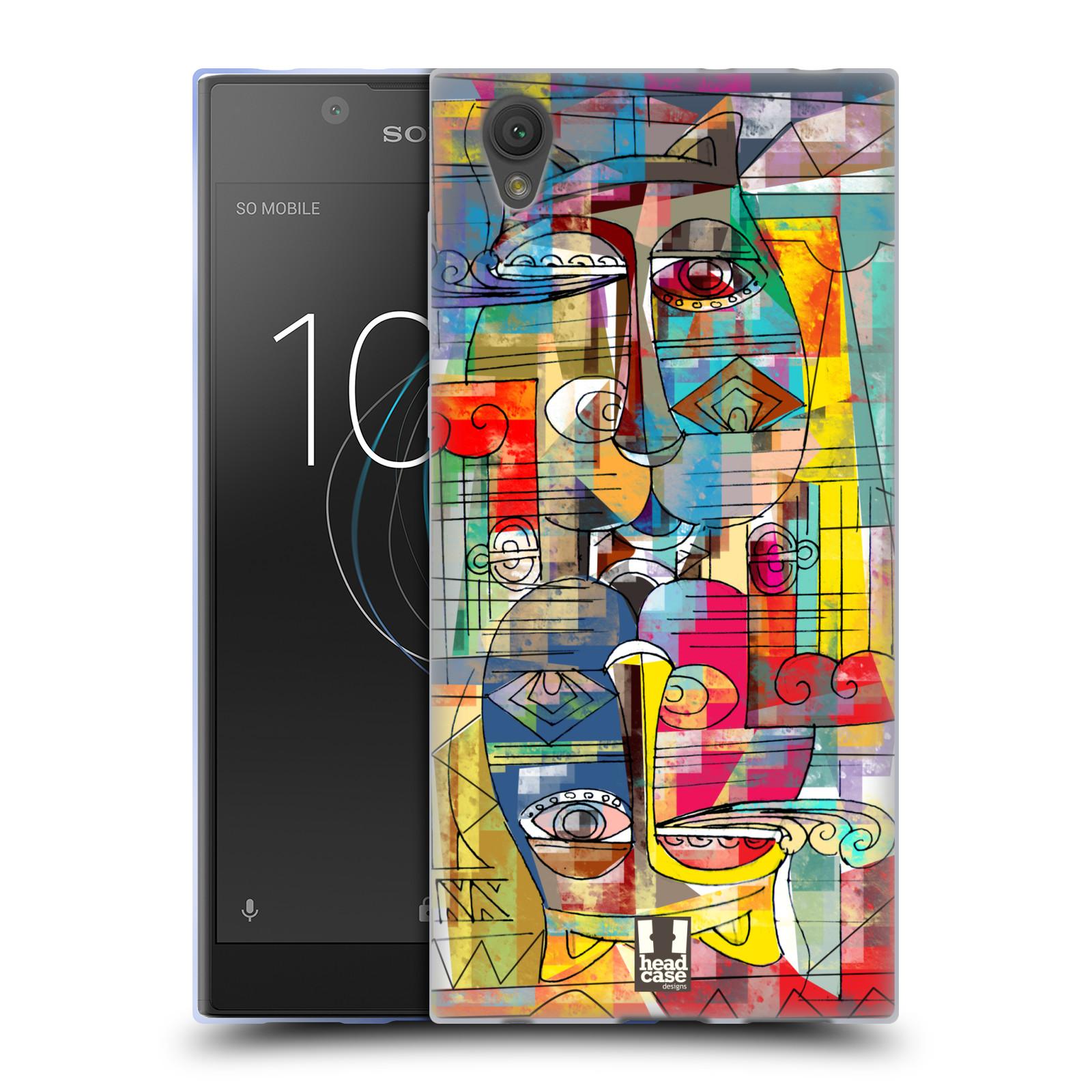 Silikonové pouzdro na mobil Sony Xperia L1 - Head Case - AZTEC MANX