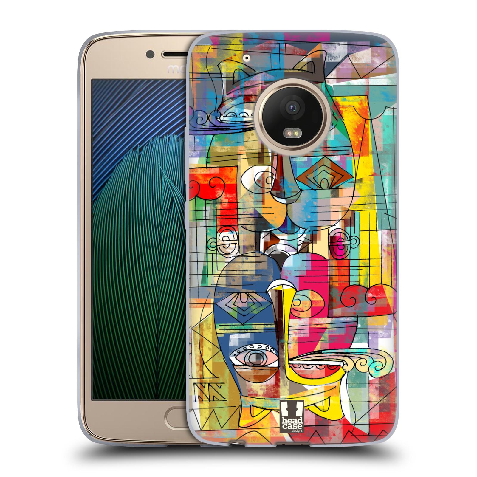 Silikonové pouzdro na mobil Lenovo Moto G5 Plus - Head Case AZTEC MANX