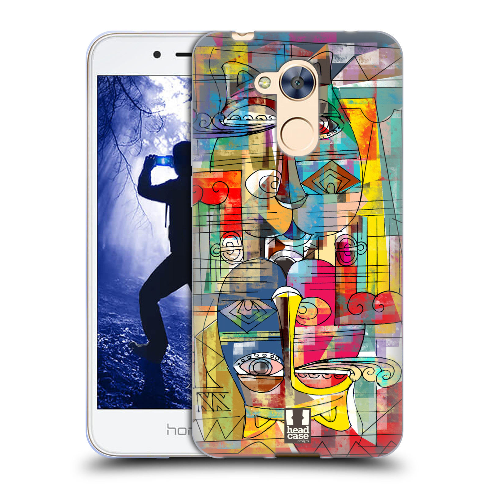 Silikonové pouzdro na mobil Honor 6A - Head Case - AZTEC MANX
