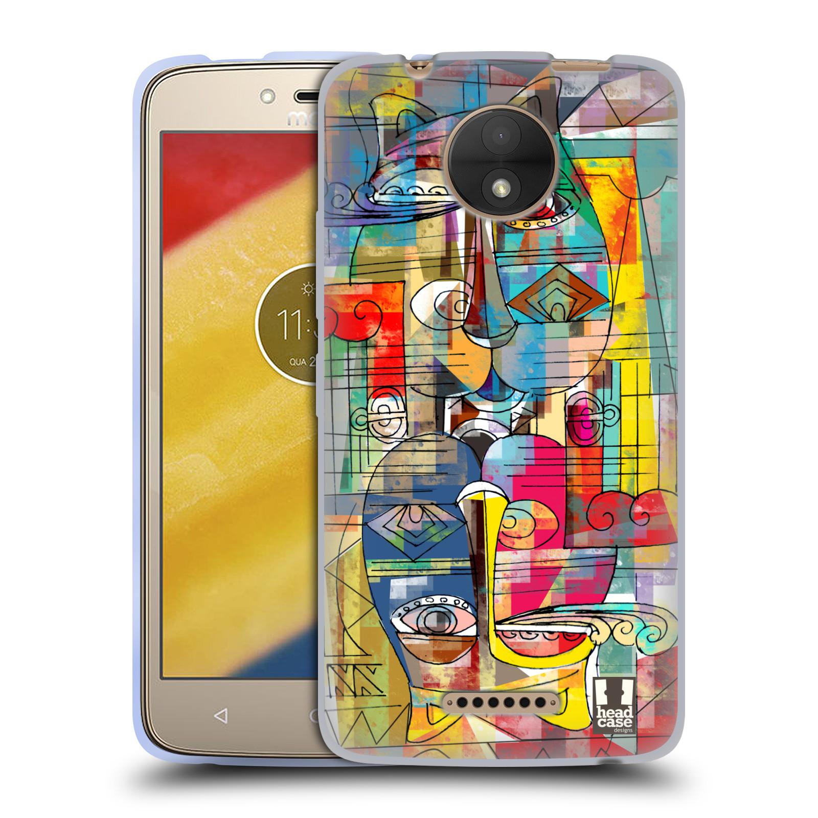Silikonové pouzdro na mobil Lenovo Moto C - Head Case - AZTEC MANX