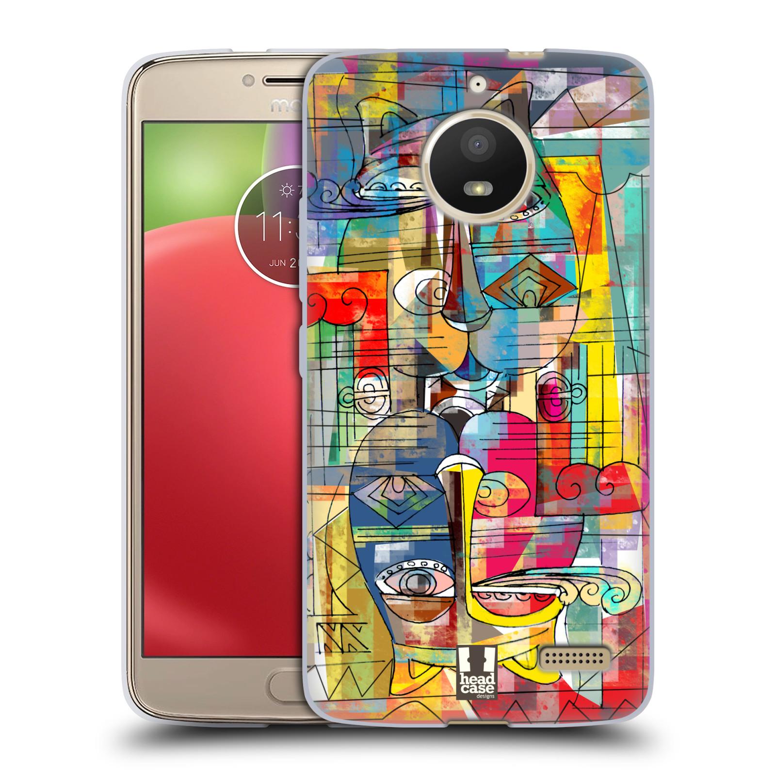 Silikonové pouzdro na mobil Lenovo Moto E4 - Head Case - AZTEC MANX