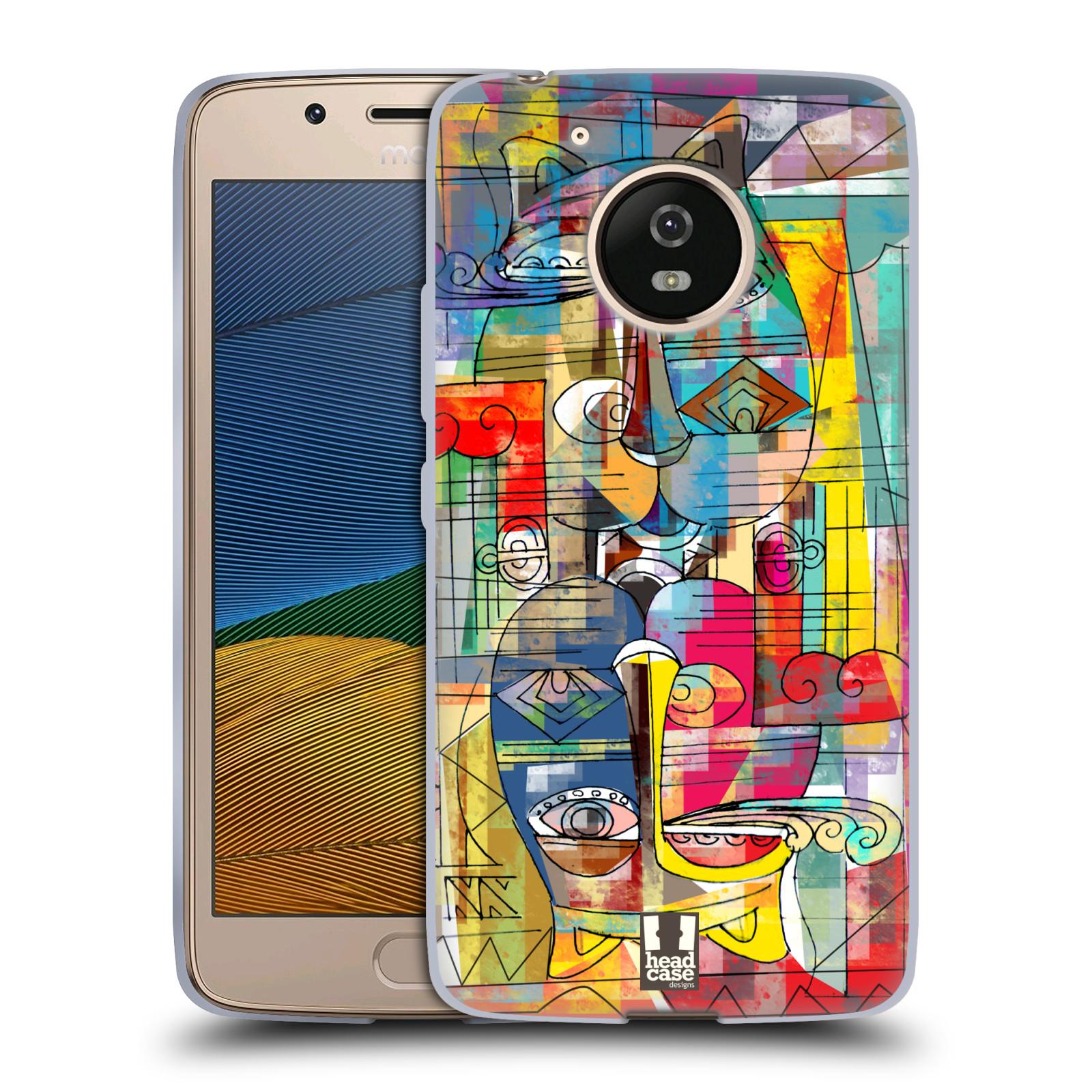 Silikonové pouzdro na mobil Lenovo Moto G5 - Head Case AZTEC MANX