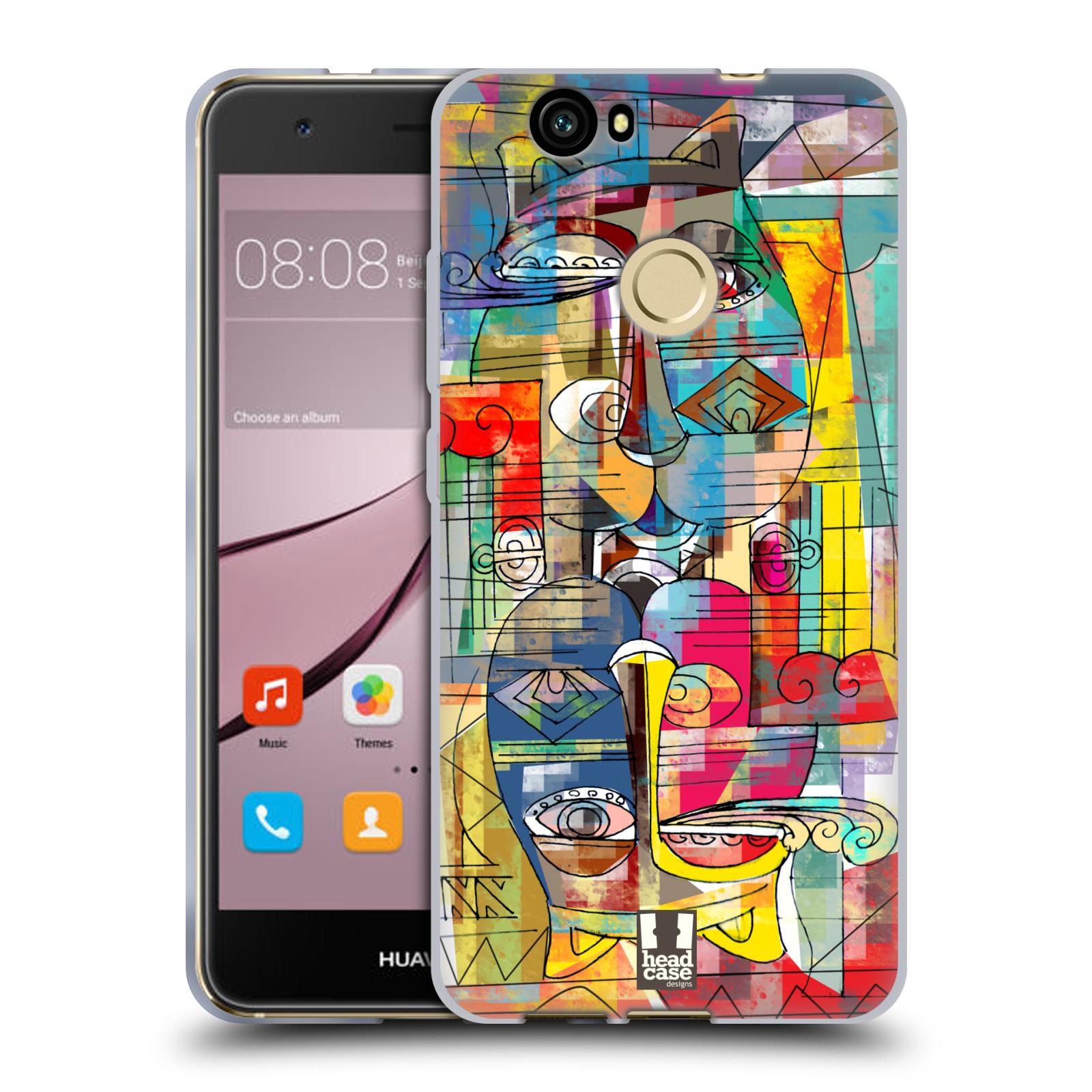 Silikonové pouzdro na mobil Huawei Nova - Head Case - AZTEC MANX