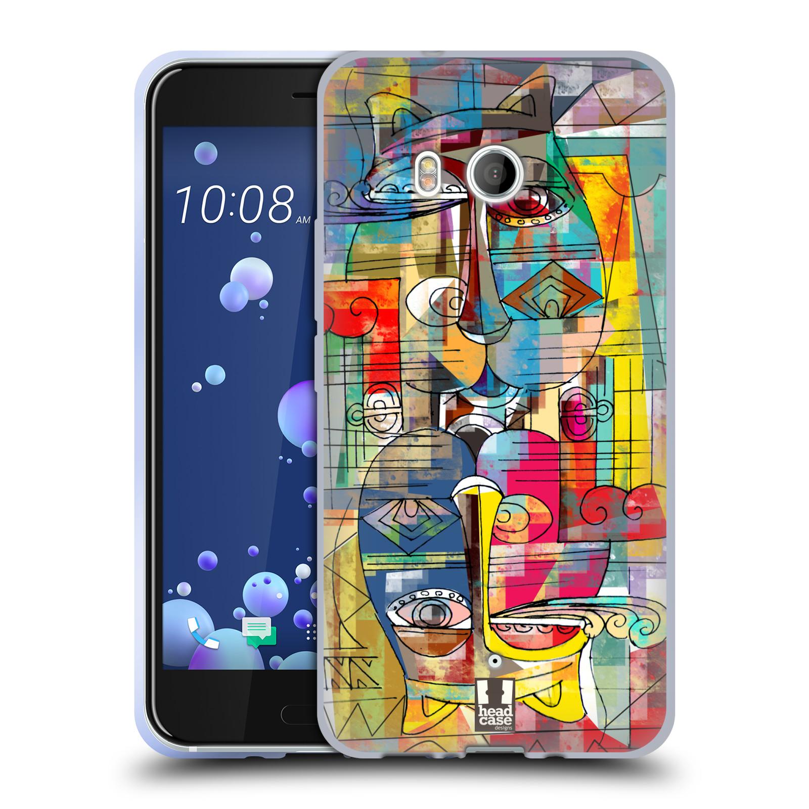 Silikonové pouzdro na mobil HTC U11 - Head Case - AZTEC MANX