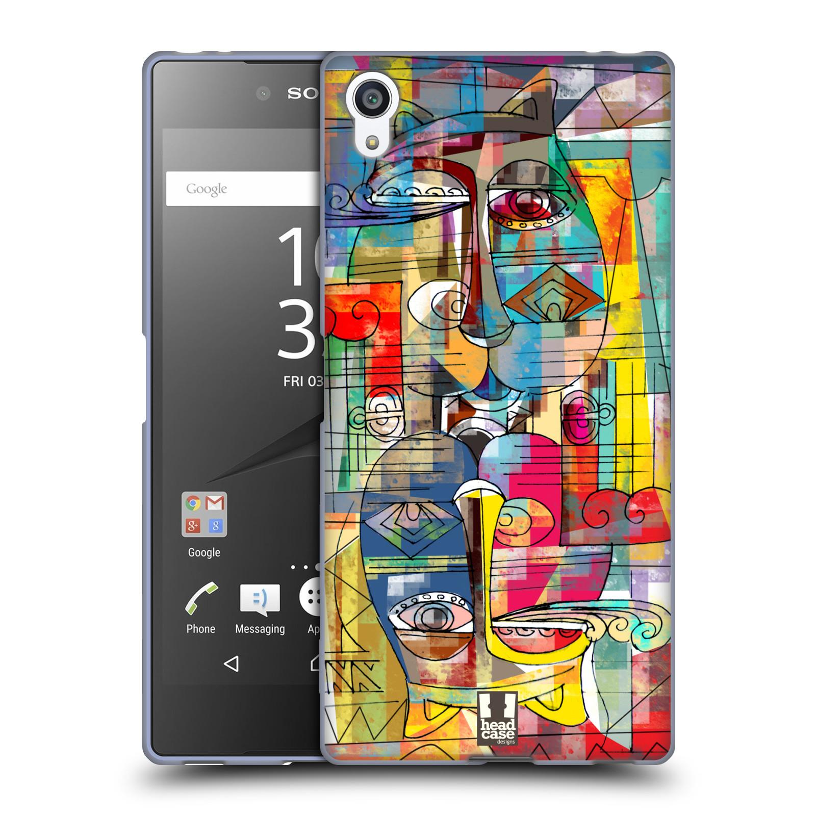 Silikonové pouzdro na mobil Sony Xperia Z5 Premium HEAD CASE AZTEC MANX