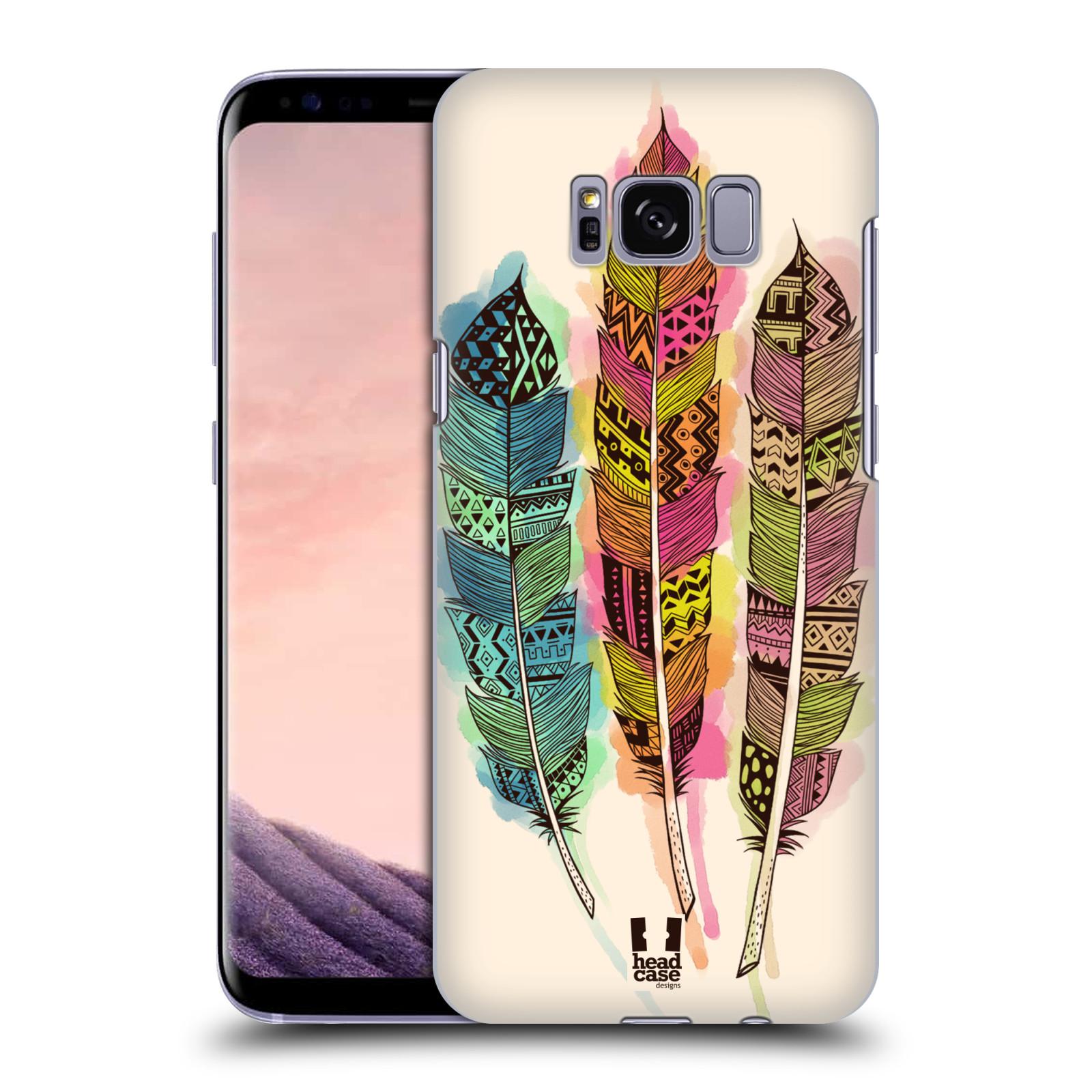 Plastové pouzdro na mobil Samsung Galaxy S8 Head Case AZTEC PÍRKA SPLASH