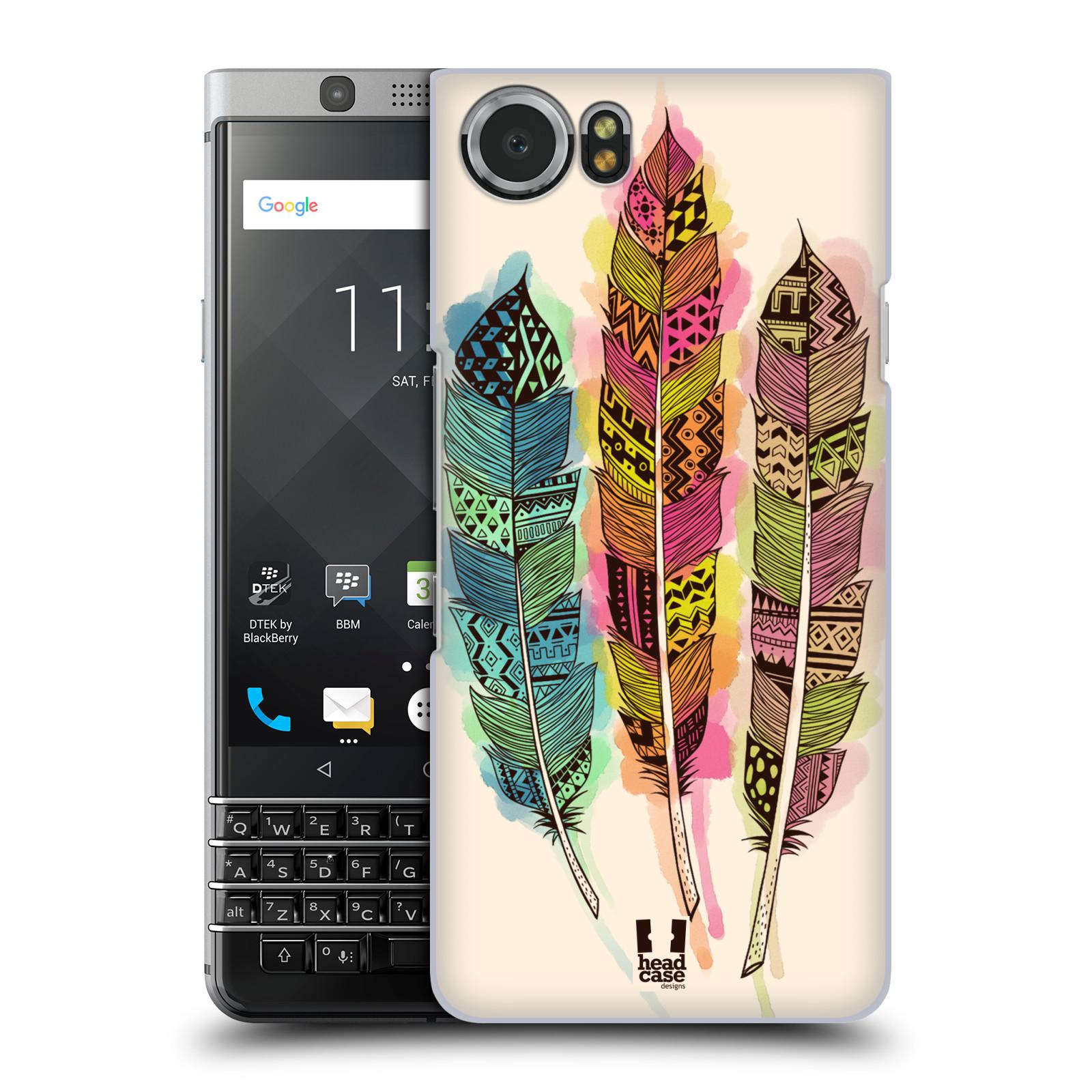 Plastové pouzdro na mobil BlackBerry KEYone - Head Case - AZTEC PÍRKA SPLASH