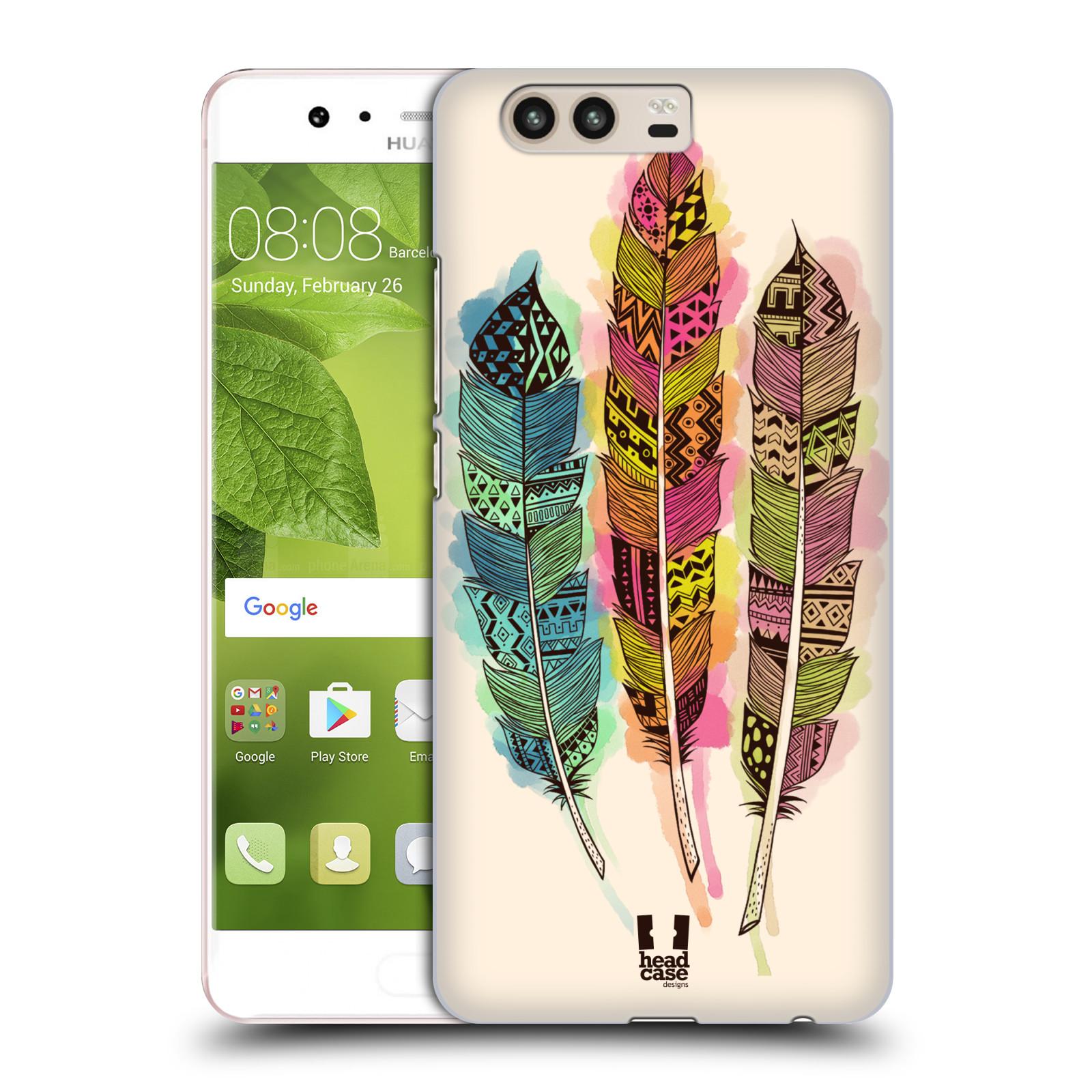 Plastové pouzdro na mobil Huawei P10 - Head Case AZTEC PÍRKA SPLASH