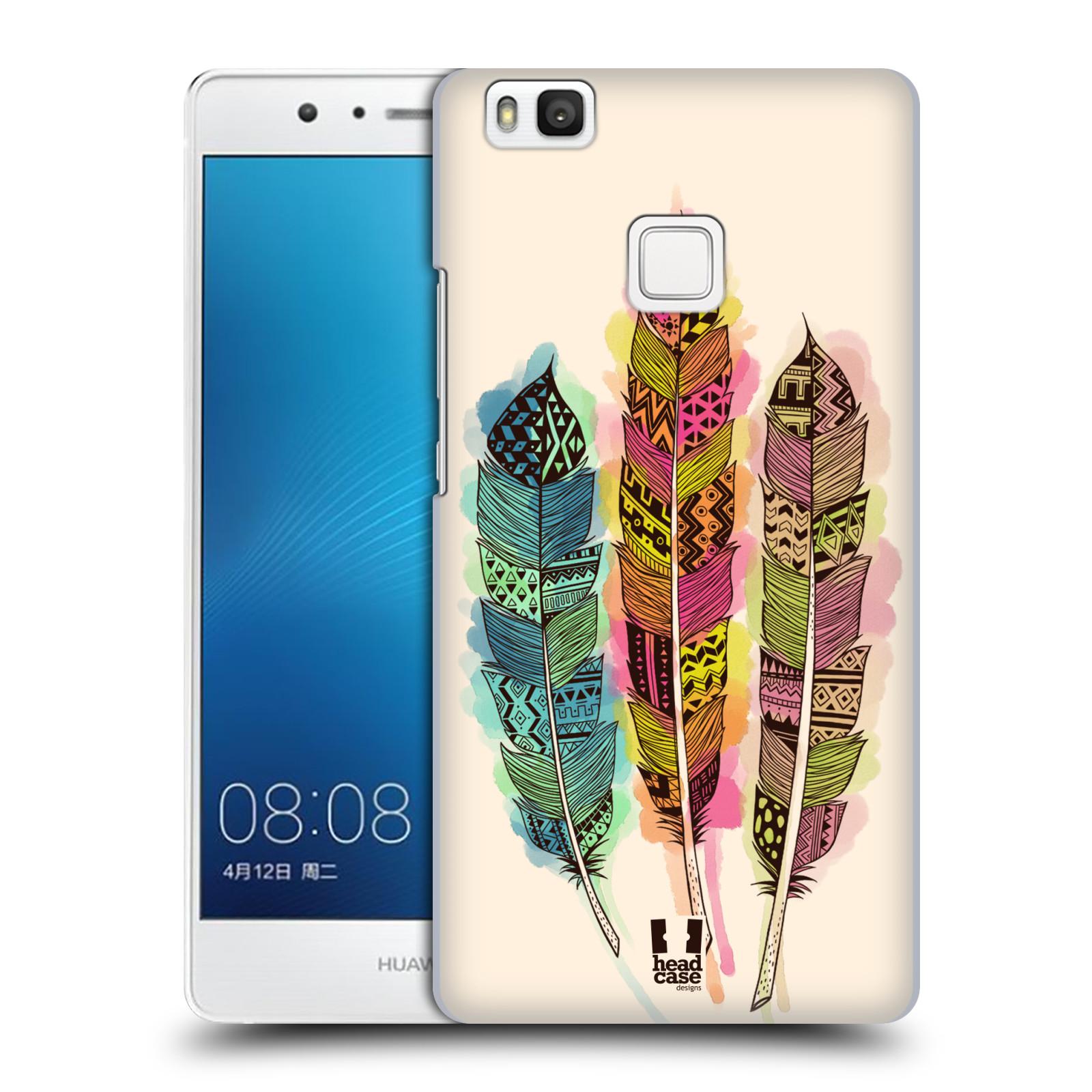 Plastové pouzdro na mobil Huawei P9 Lite HEAD CASE AZTEC PÍRKA SPLASH