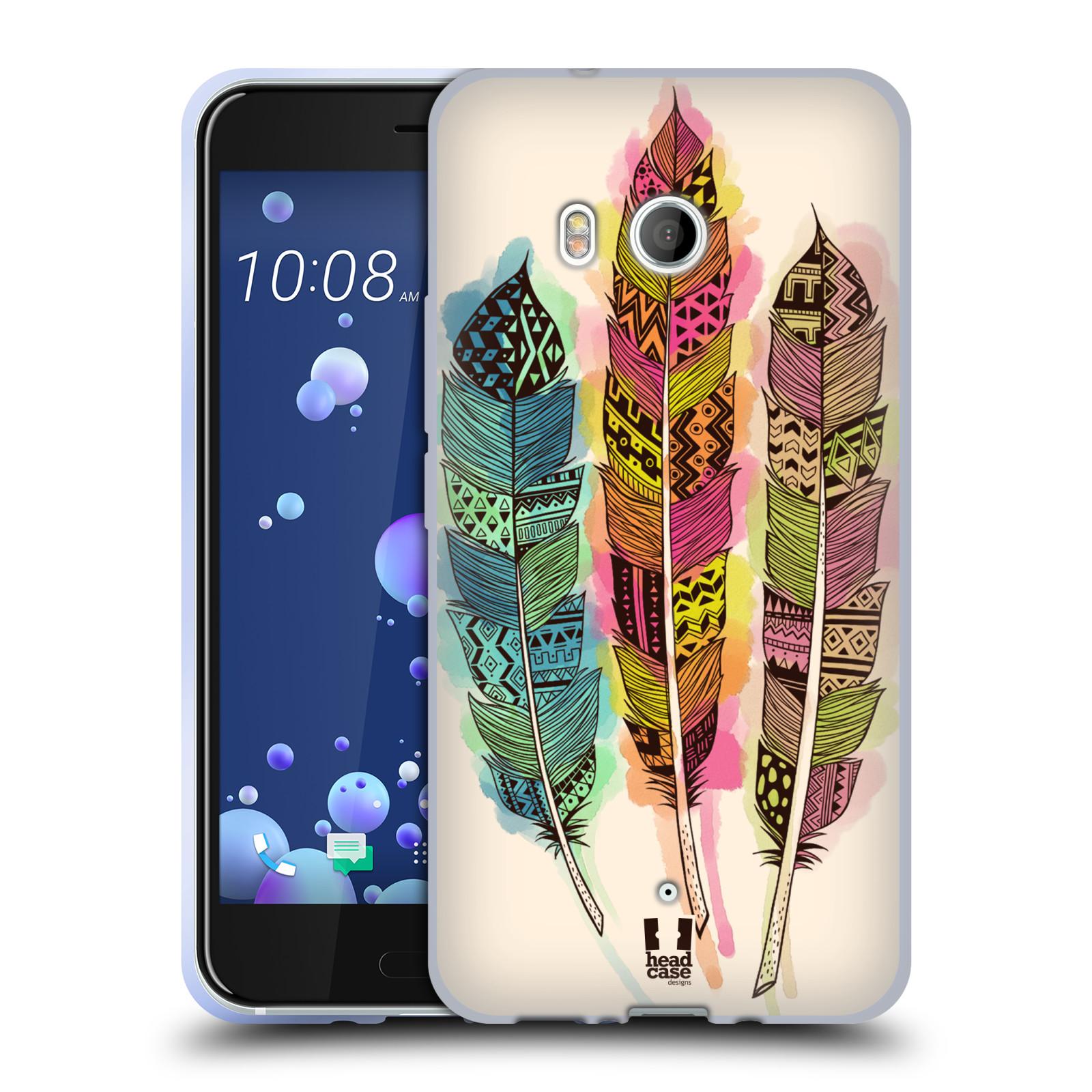 Silikonové pouzdro na mobil HTC U11 - Head Case - AZTEC PÍRKA SPLASH