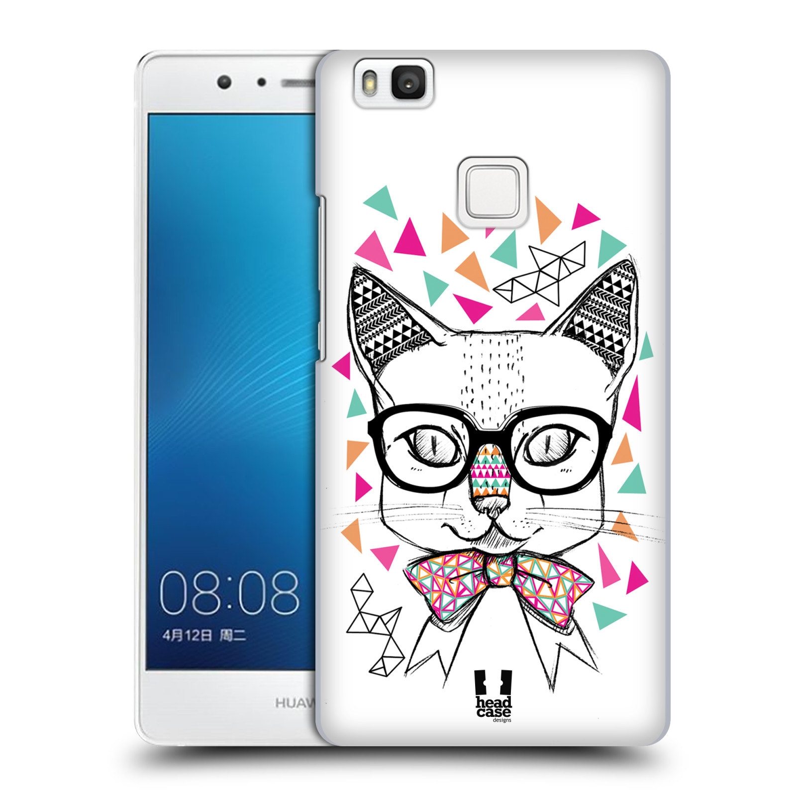 Plastové pouzdro na mobil Huawei P9 Lite HEAD CASE AZTEC KOČIČKA