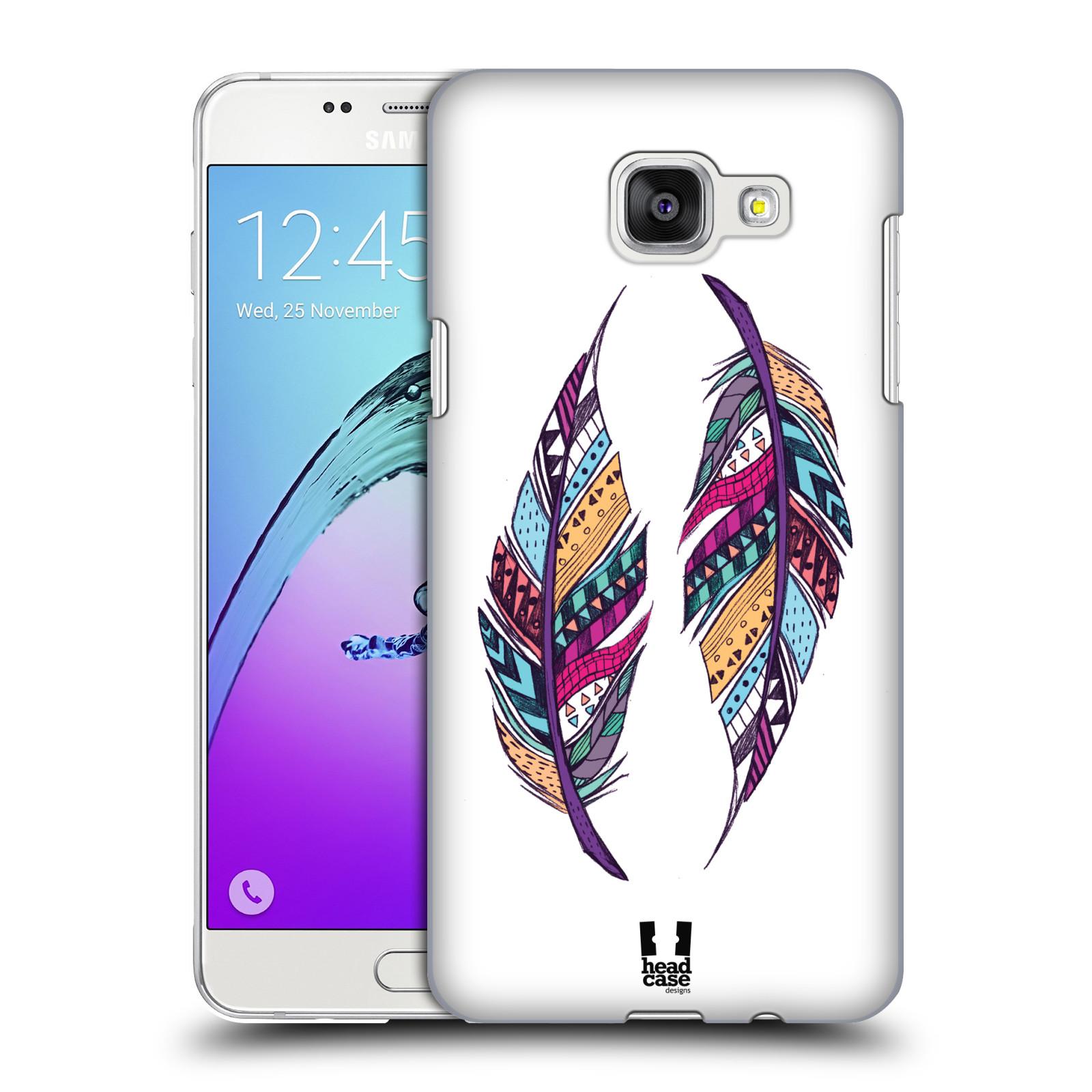 Plastové pouzdro na mobil Samsung Galaxy A5 (2016) HEAD CASE AZTEC PÍRKA