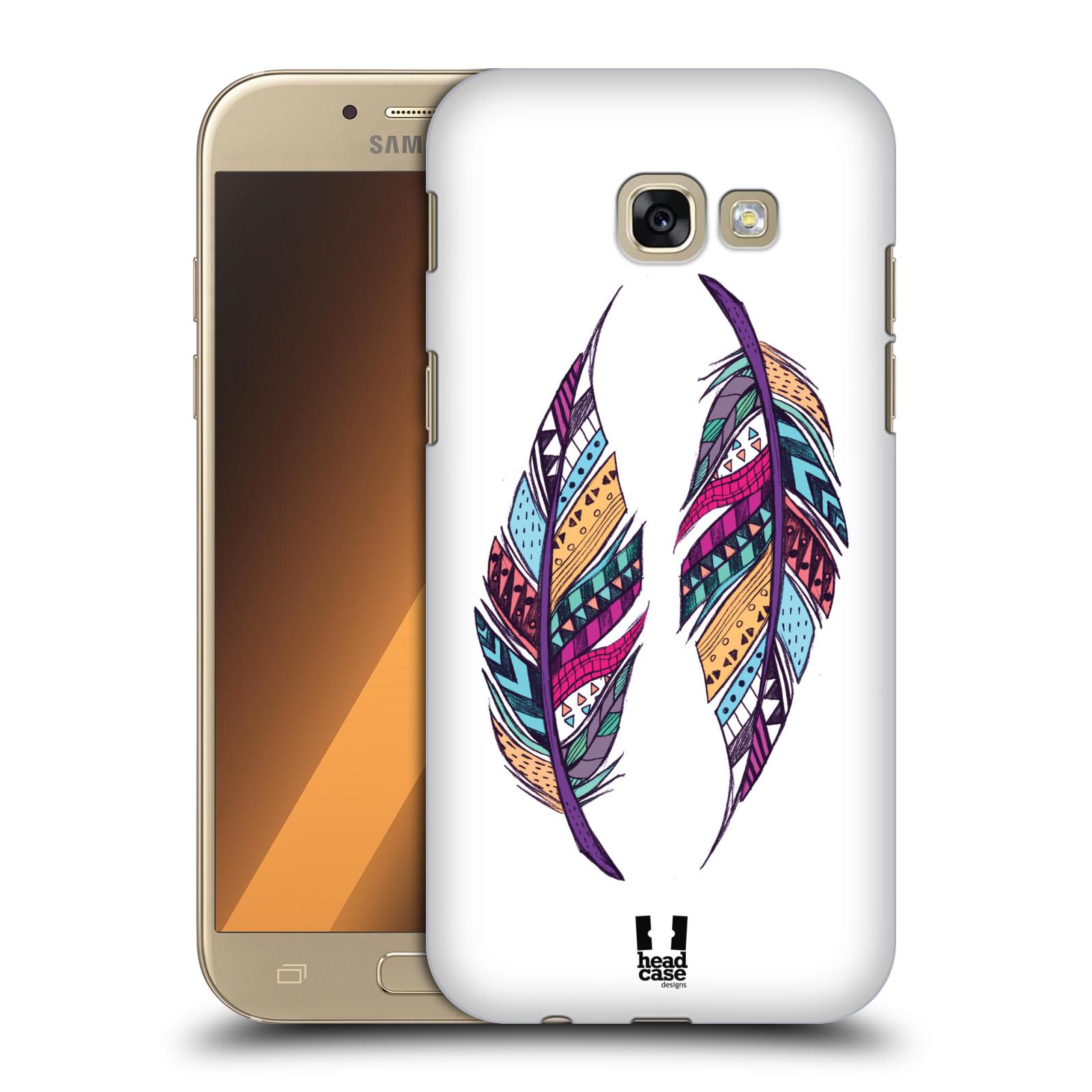 Plastové pouzdro na mobil Samsung Galaxy A5 (2017) HEAD CASE AZTEC PÍRKA